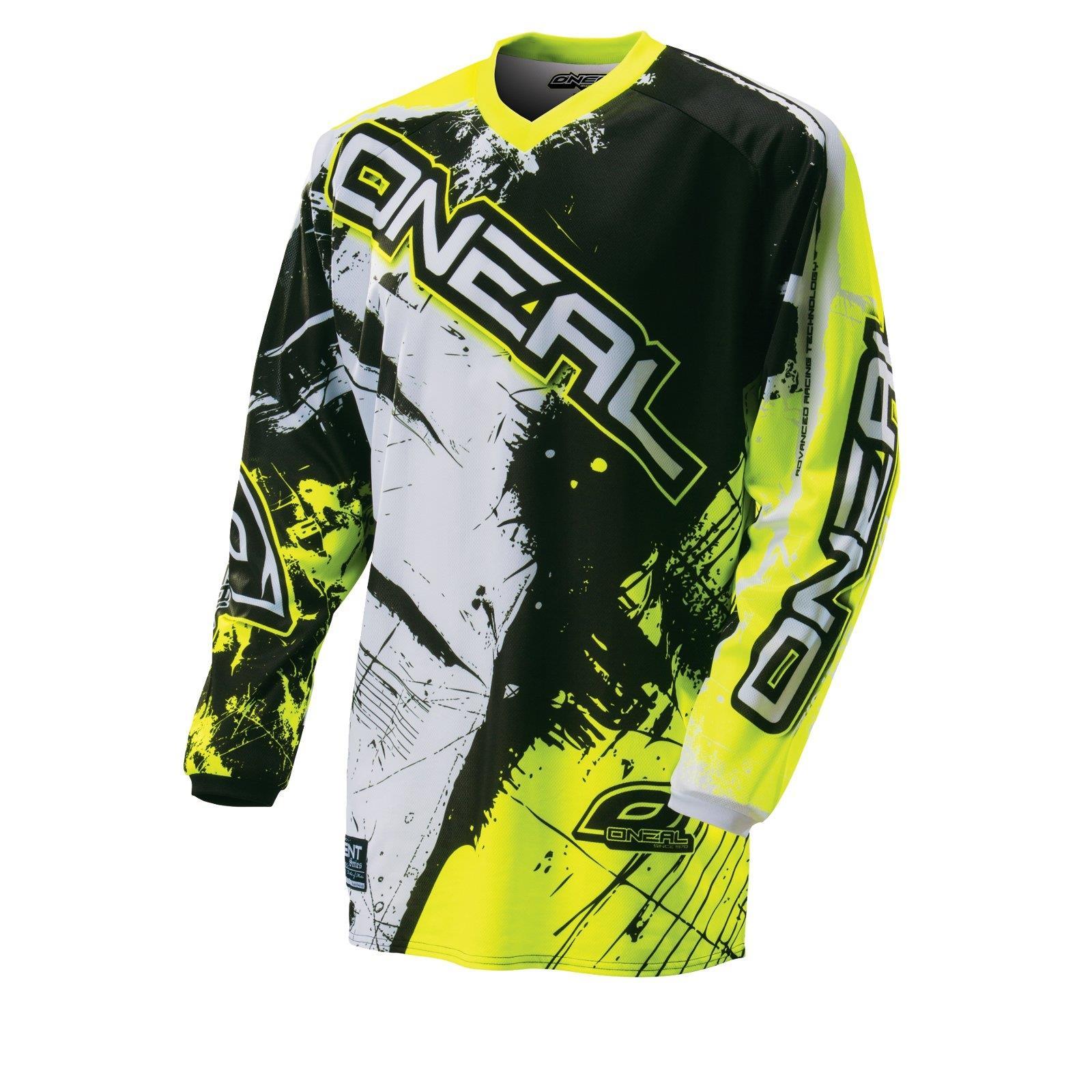 ONeal Element Hose WILD Schwarz Weiß MX DH Moto Cross Motorrad MTB Mountainbike
