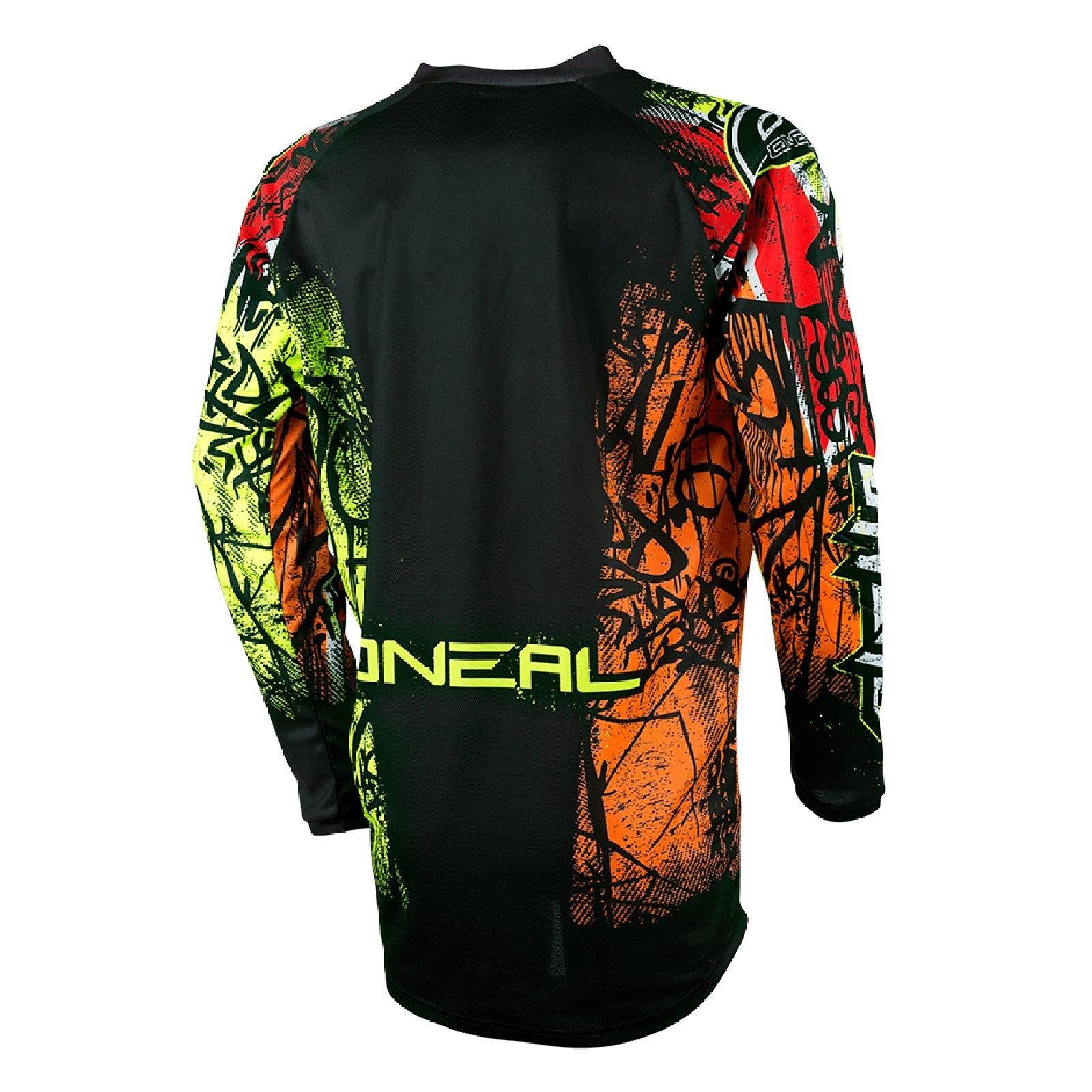 ONEAL-Element-MX-Jersey-VANDAL-maglietta-moto-cross-SX-ENDURO-conducente-Camicia-terreno miniatura 3
