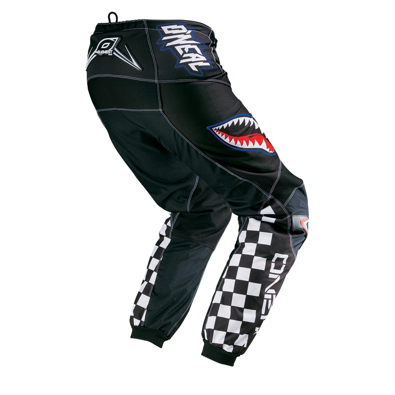 ONeal-pantalones-de-Jersey-de-los-ninos-de-pantalones-cortos-ninos-MX-bicicleta-DH-montana-bicicleta miniatura 48