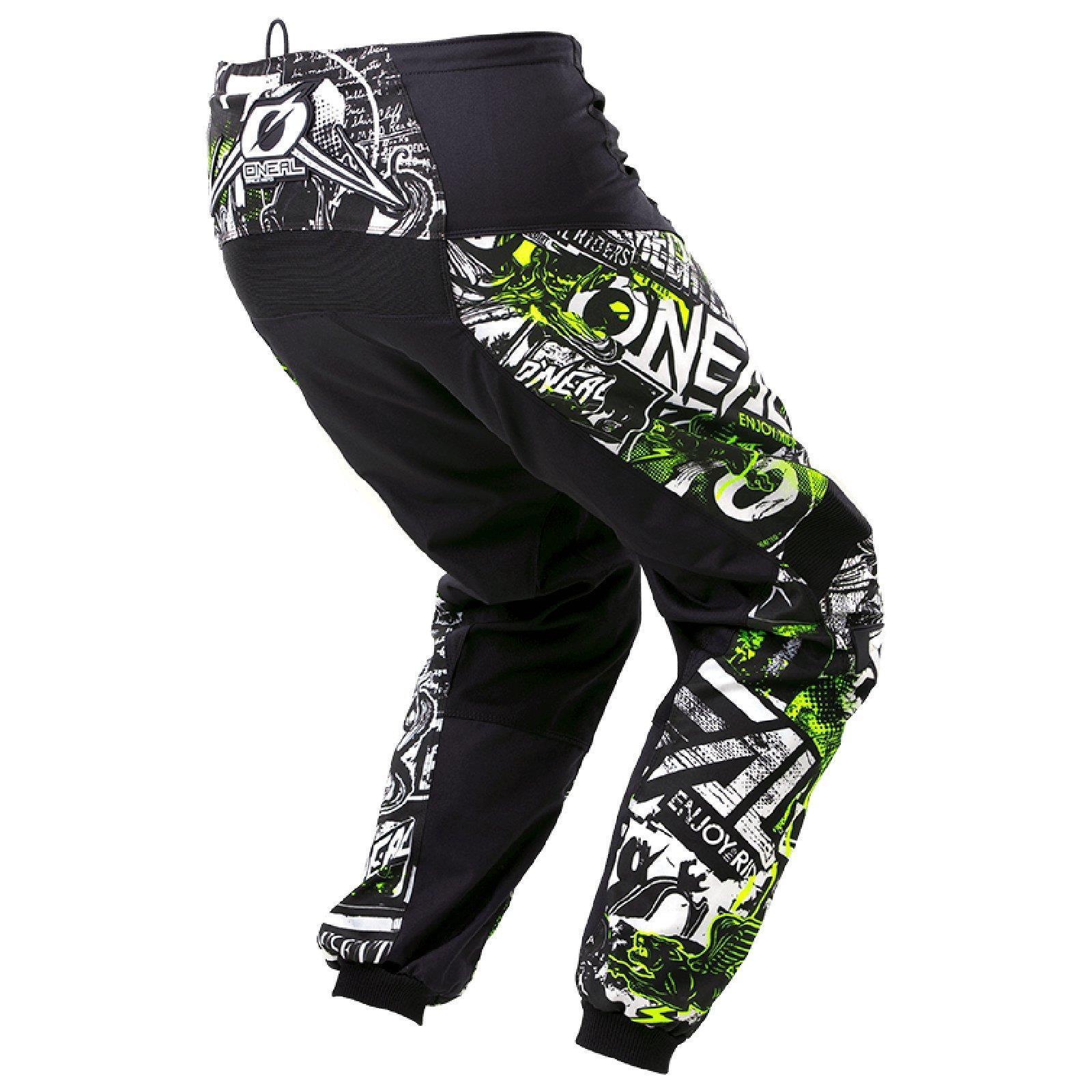 ONeal-pantalones-de-Jersey-de-los-ninos-de-pantalones-cortos-ninos-MX-bicicleta-DH-montana-bicicleta miniatura 103