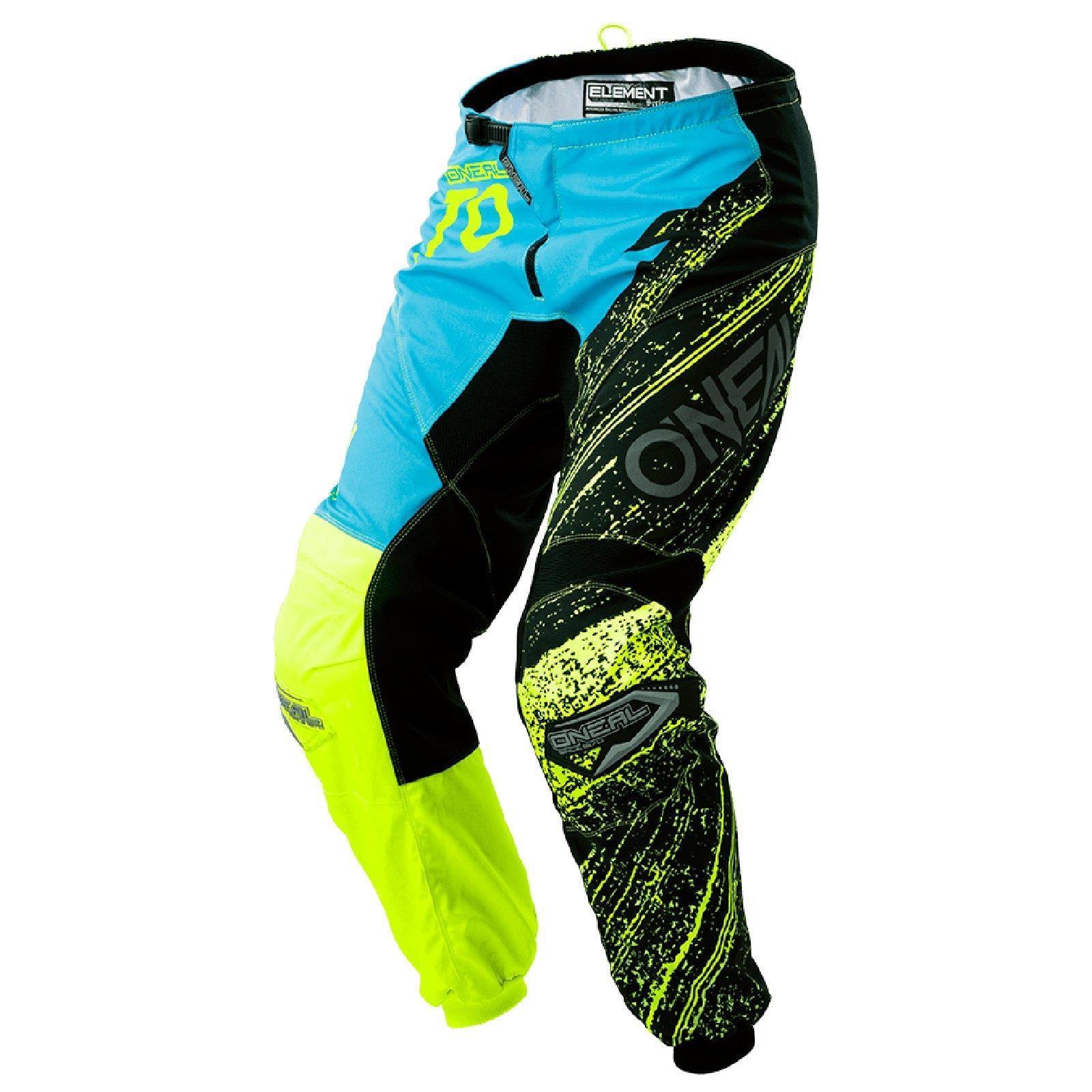 ONEAL-Element-Burnout-MX-Moto-Cross-Trousers-Pant-Enduro-Mountain-Bike-MTB-Downhill thumbnail 6