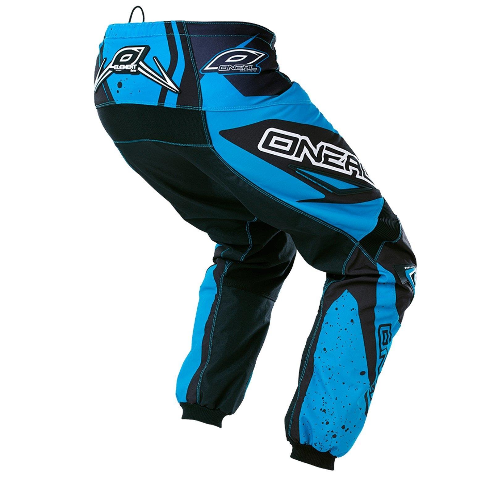 O-039-Neal-Element-MX-Pantaloni-Racewear-Pant-moto-cross-SX-Enduro-Fuoristrada-Moto-Quad miniatura 3