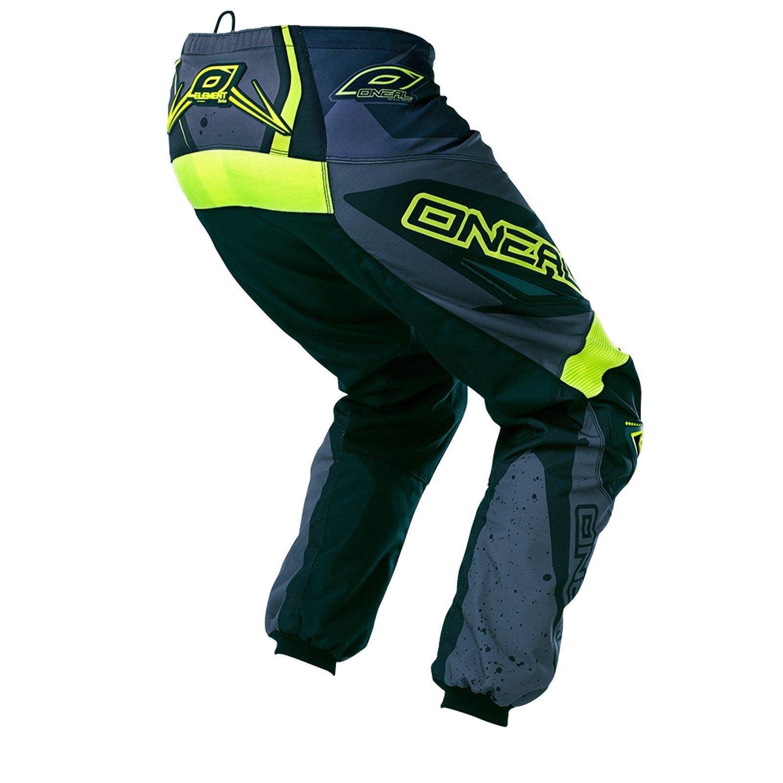 O-039-Neal-Element-MX-Pantaloni-Racewear-Pant-moto-cross-SX-Enduro-Fuoristrada-Moto-Quad miniatura 11