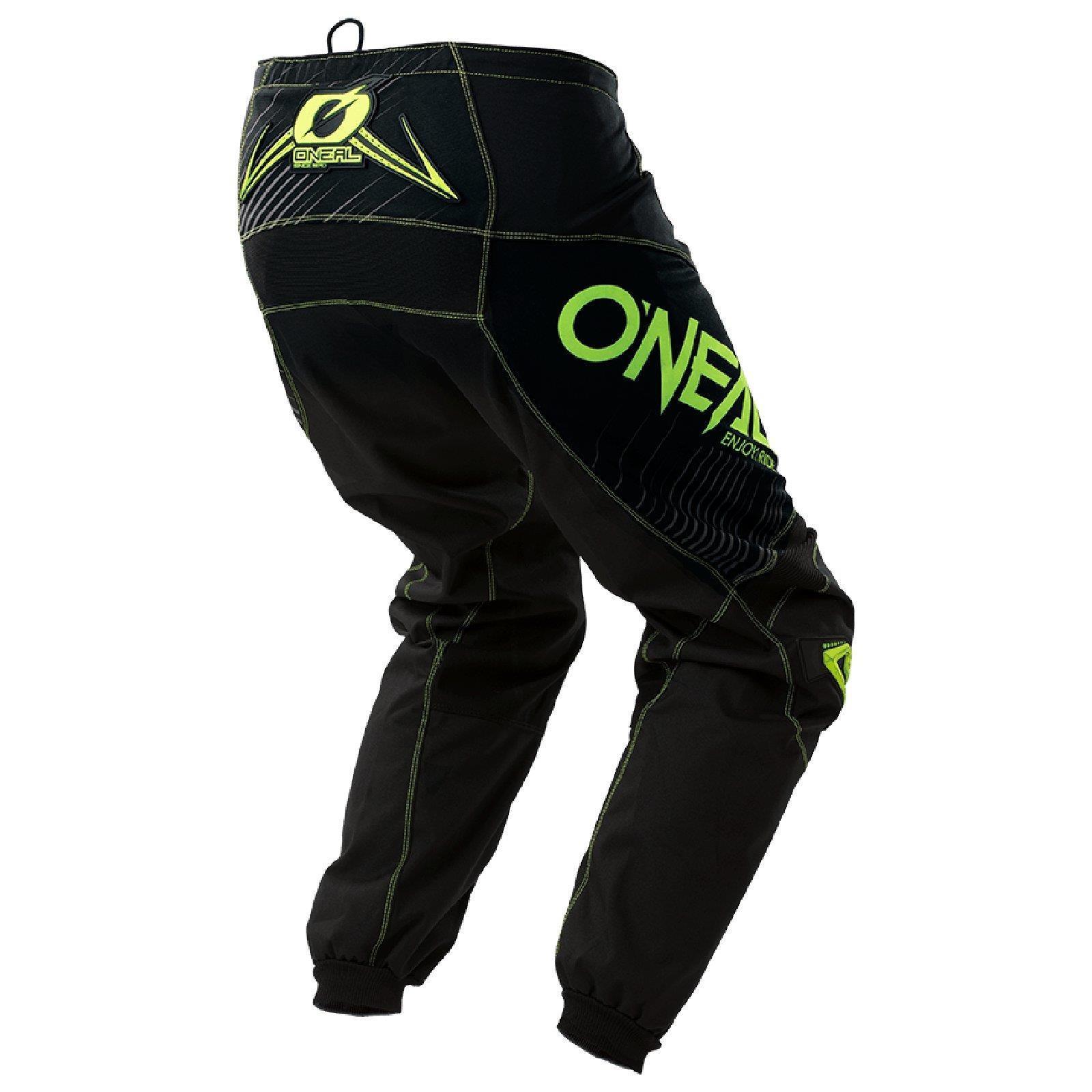 O-039-Neal-elemento-Mayhem-Hardwear-Pants-Pantaloni-MX-MOTO-CROSS-ENDURO-OFFROAD-Pelle miniatura 48