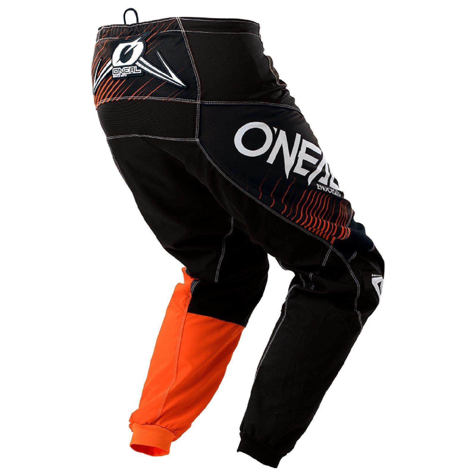 O-039-Neal-elemento-Mayhem-Hardwear-Pants-Pantaloni-MX-MOTO-CROSS-ENDURO-OFFROAD-Pelle miniatura 50