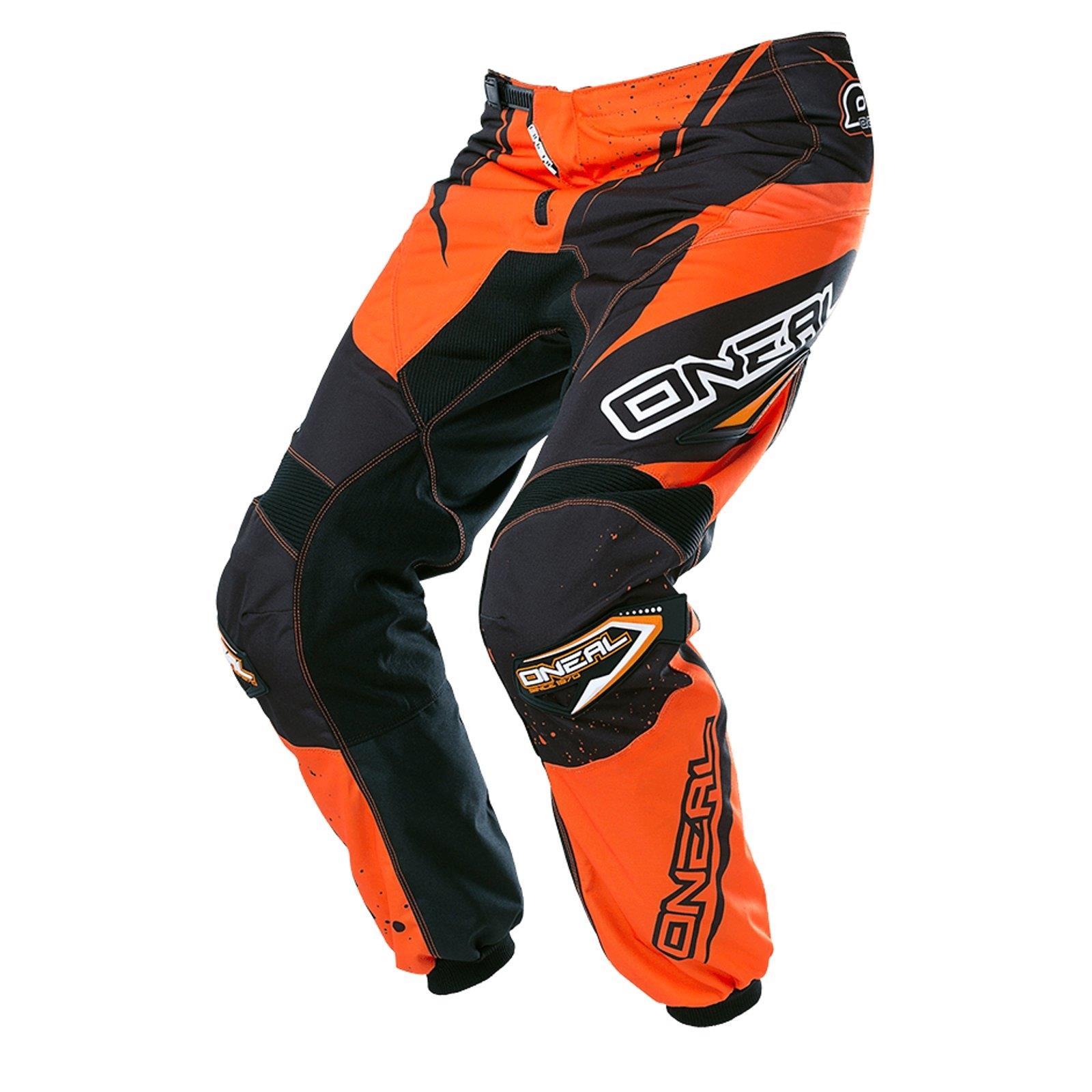 O'Neal Element Hose Racewear Schwarz Orange DH DH DH Downhill FR MTB BMX Mountain Bike dcc44d