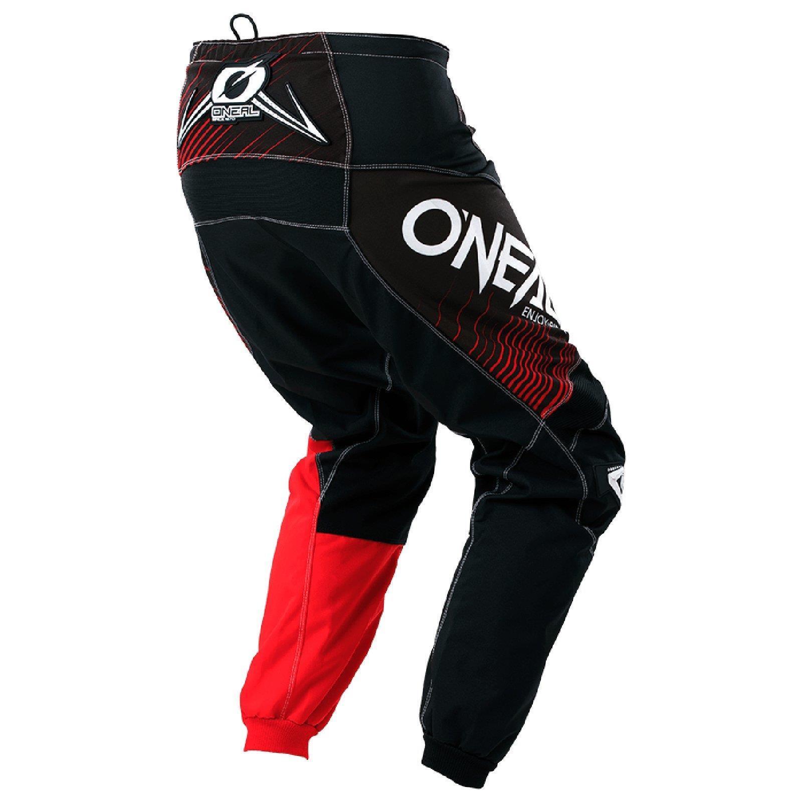 O-039-Neal-elemento-Mayhem-Hardwear-Pants-Pantaloni-MX-MOTO-CROSS-ENDURO-OFFROAD-Pelle miniatura 52