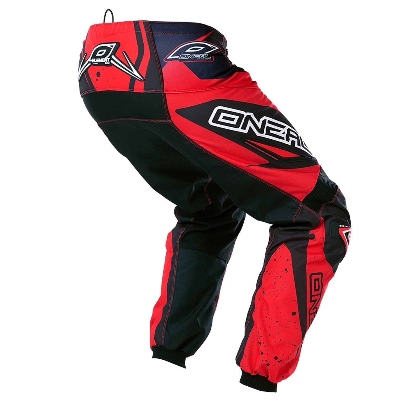 O-039-Neal-Element-MX-Pantaloni-Racewear-Pant-moto-cross-SX-Enduro-Fuoristrada-Moto-Quad miniatura 7