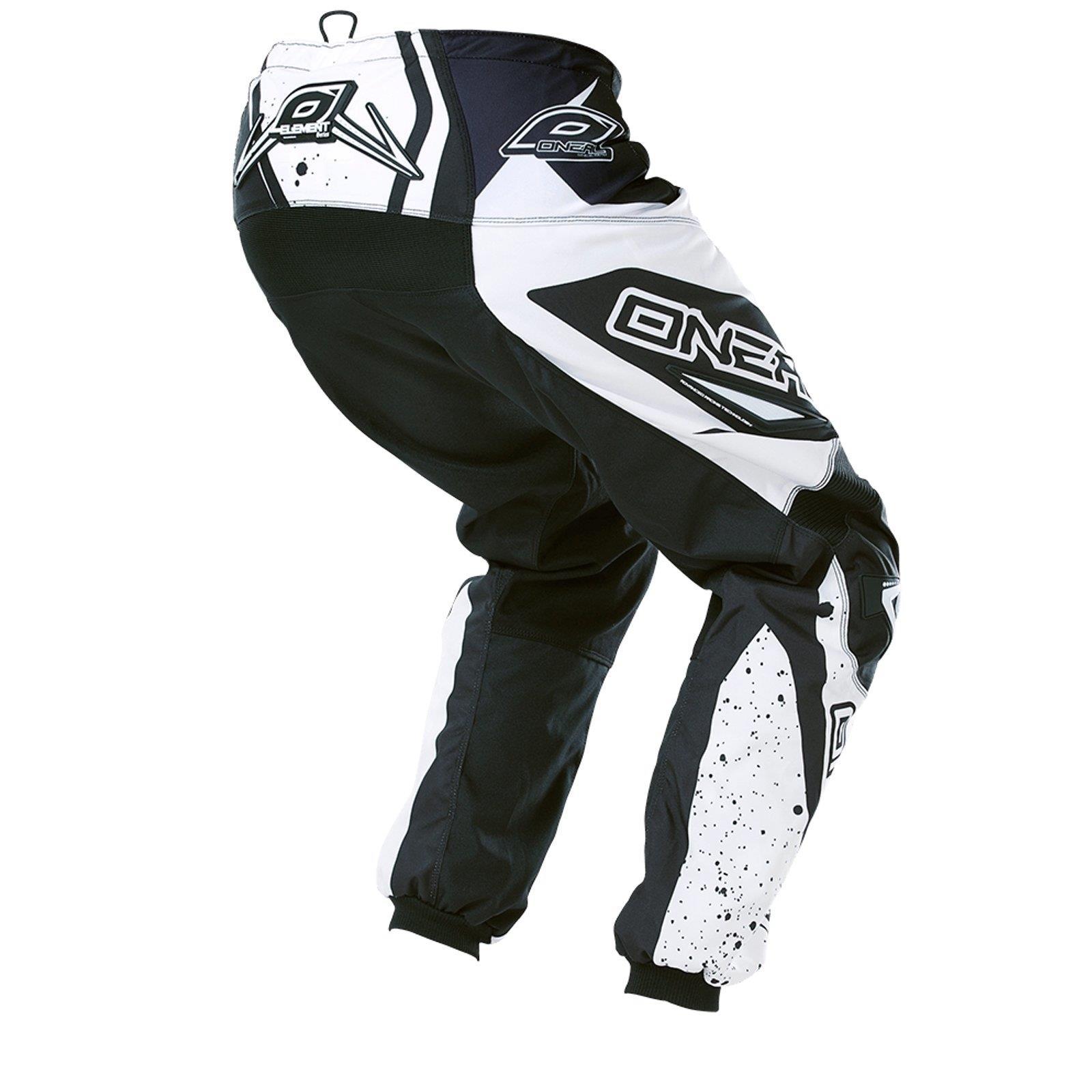 O-039-Neal-Element-MX-Pantaloni-Racewear-Pant-moto-cross-SX-Enduro-Fuoristrada-Moto-Quad miniatura 9