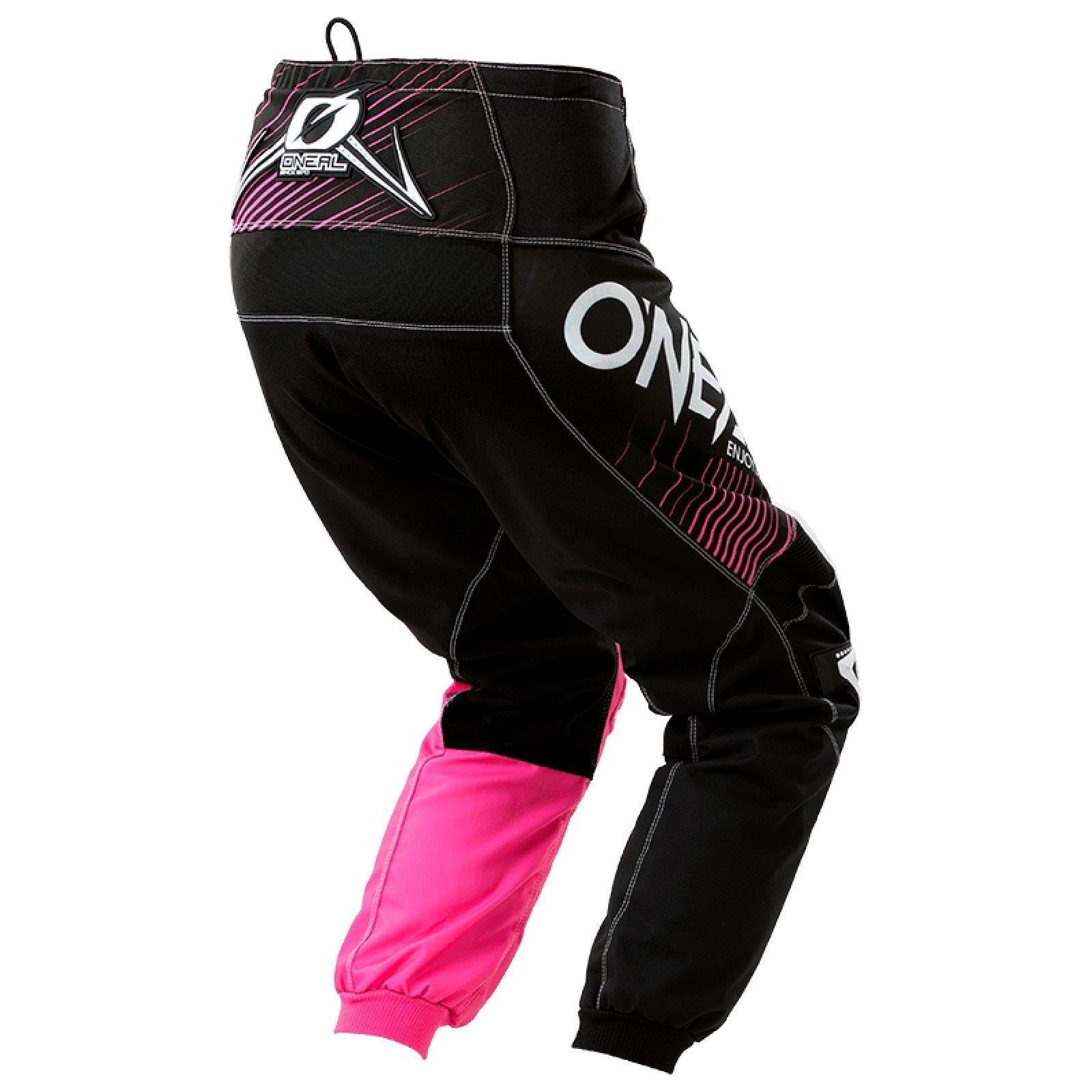 ONEAL-DONNA-MOTO-CROSS-MTB-SHIRT-ragazze-Jersey-Pantaloni-Rosa-Casco-bicicletta-DH-ENDURO miniatura 20