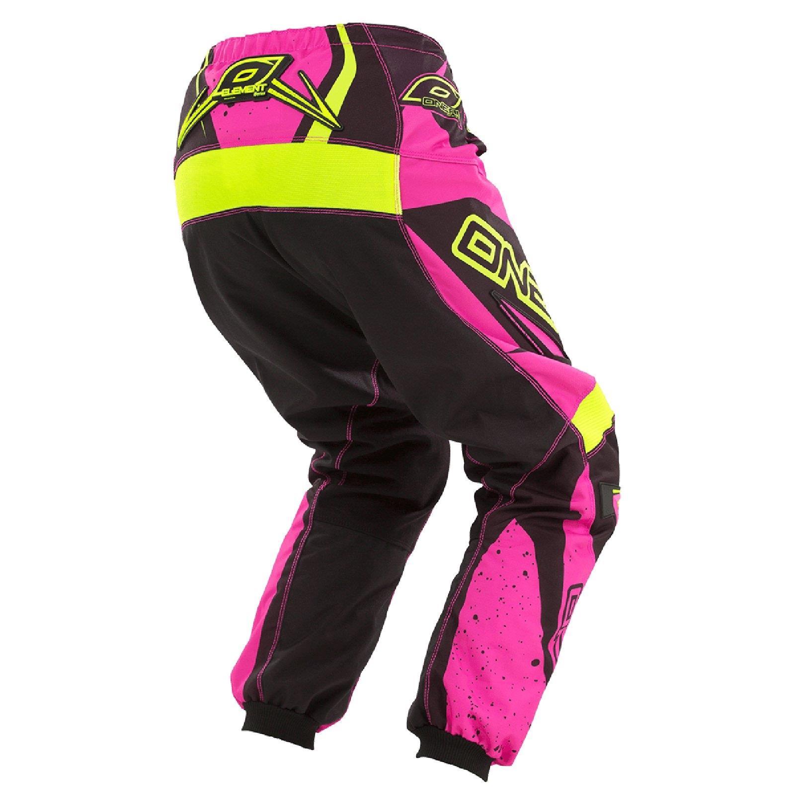 ONeal Element MX DAMEN Hose Racewear damen Rosa Moto Cross Cross Cross Enduro Mountainbike 93e145