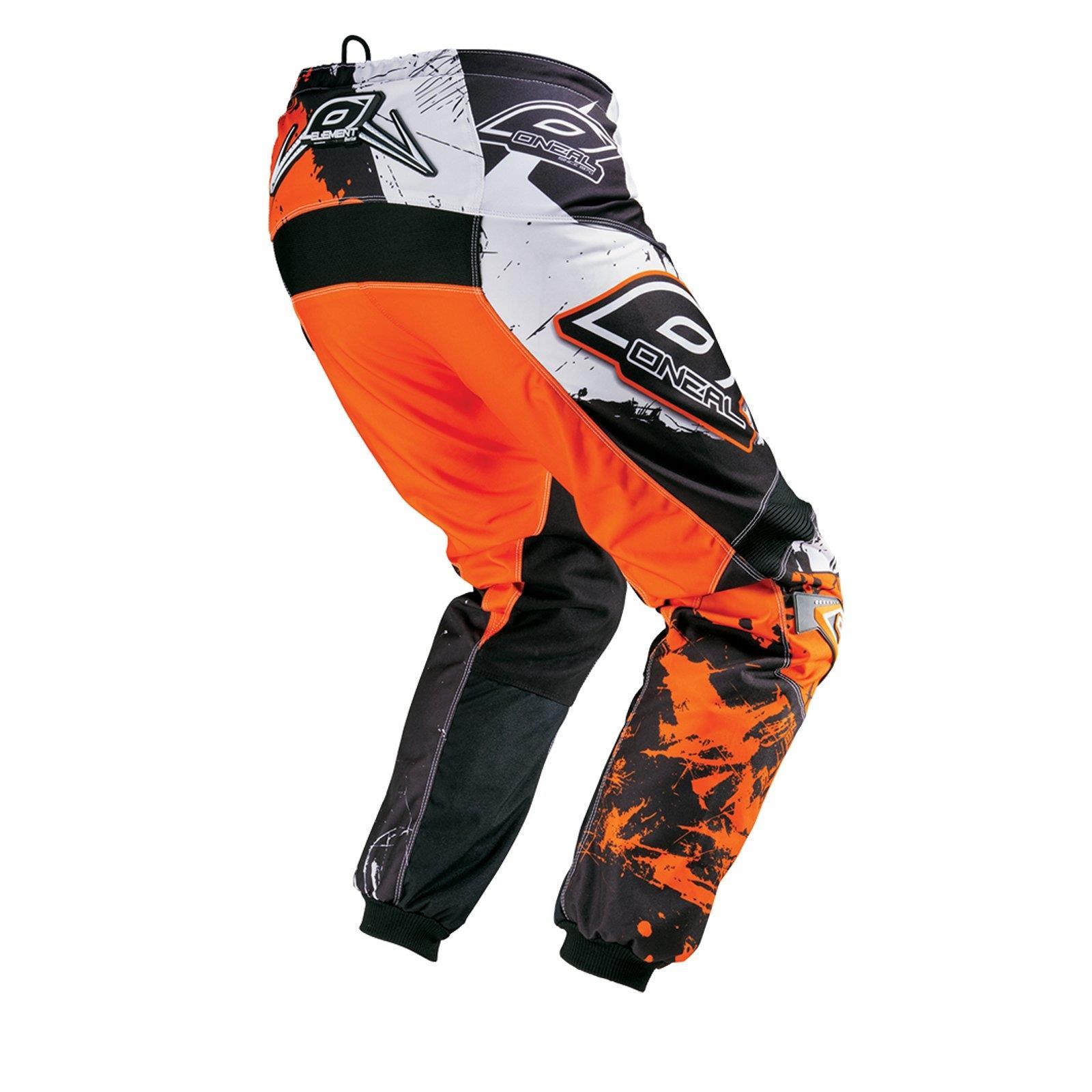 ONeal Element KINDER MX Hose SHOCKER Orange Moto Cross Enduro Motorrad  MTB Kids