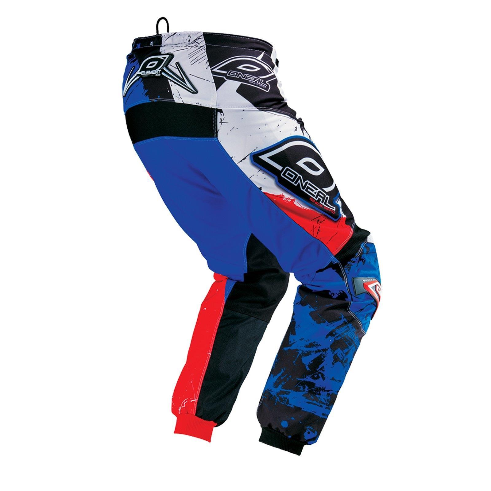 O-039-Neal-elemento-Mayhem-Hardwear-Pants-Pantaloni-MX-MOTO-CROSS-ENDURO-OFFROAD-Pelle miniatura 54