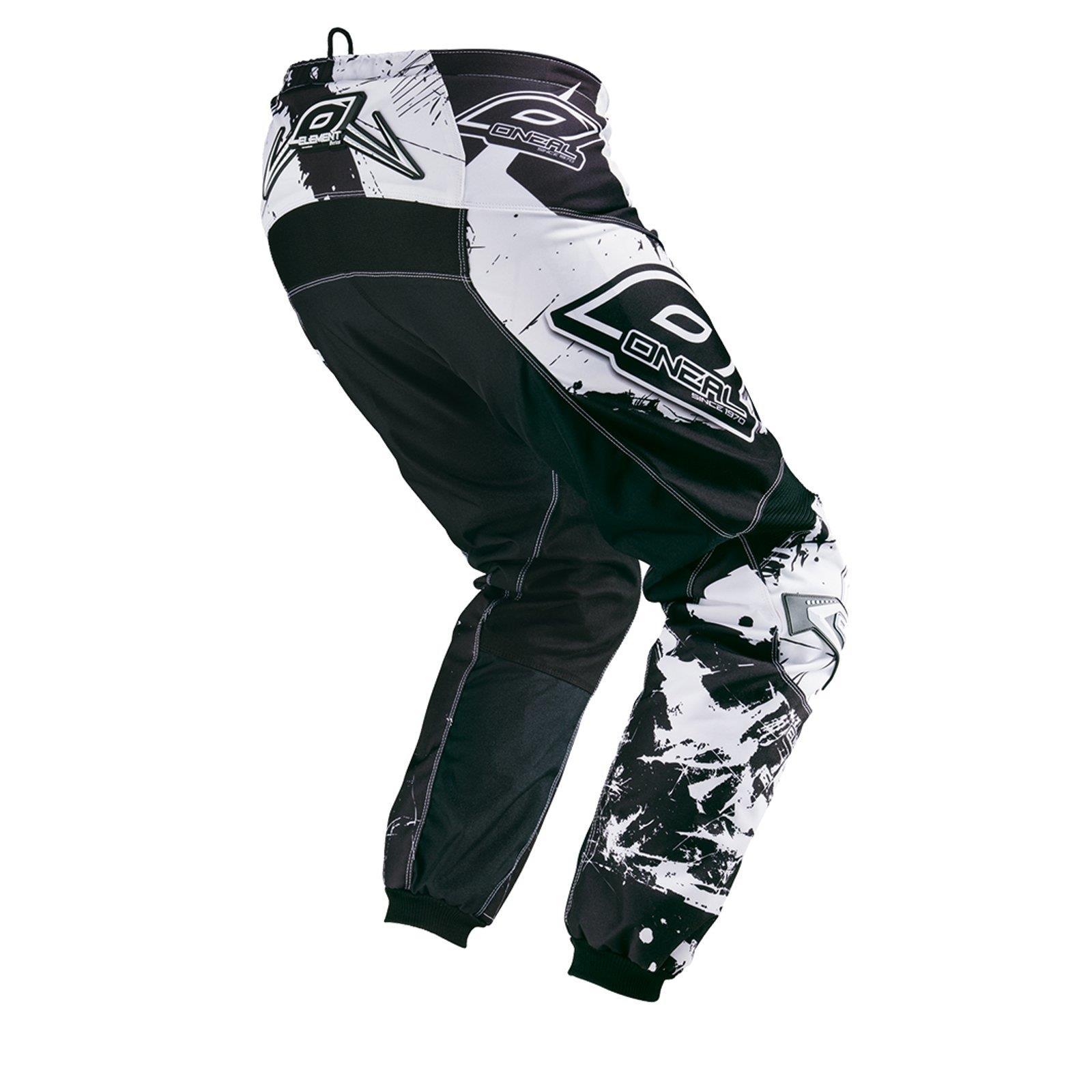 O-039-neal-elemento-Mayhem-Hardwear-Pants-pantalones-MX-Moto-Cross-Enduro-todoterreno-cuero miniatura 56