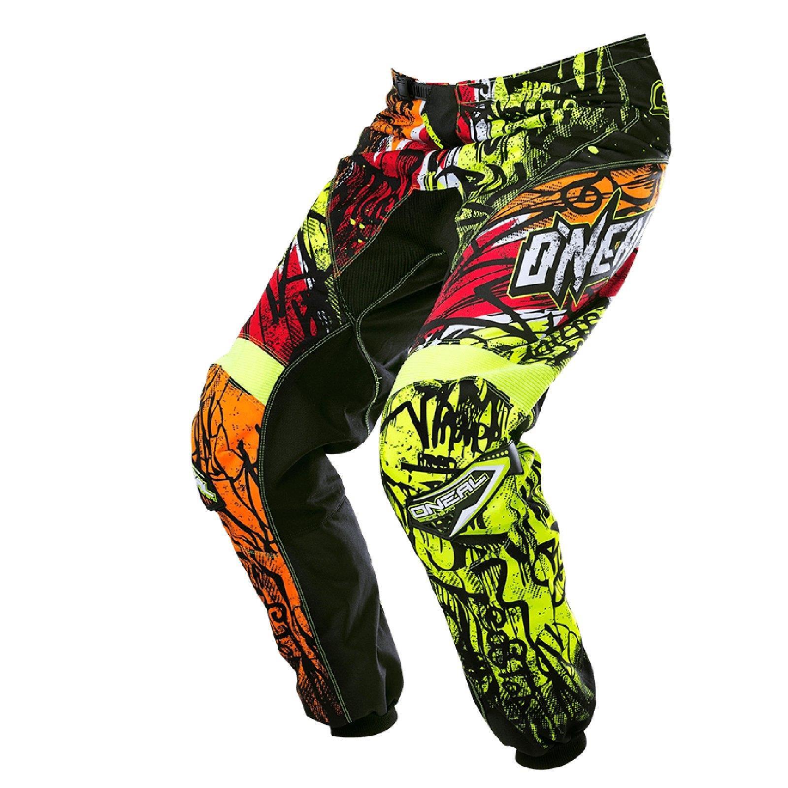 O-039-Neal-elemento-VANDAL-Combo-Jersey-Pantaloni-Motocross-MX-MTB-DH-DOWNHILL-OFFROAD miniatura 10