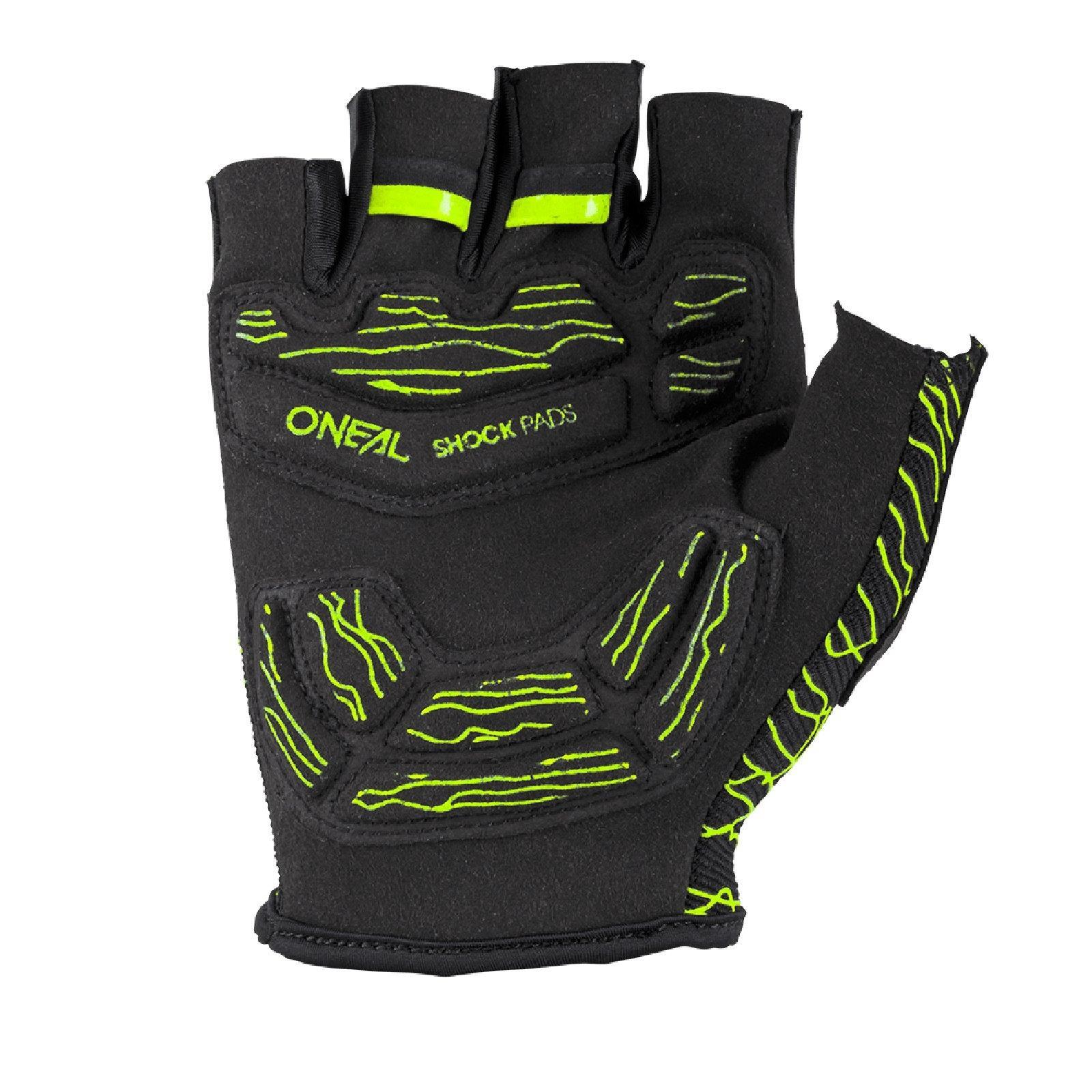 Oneal-Wired-gel-brevemente-dedos-Guantes-de-bicicleta-enduro-mountainbike-viajes-MTB miniatura 5