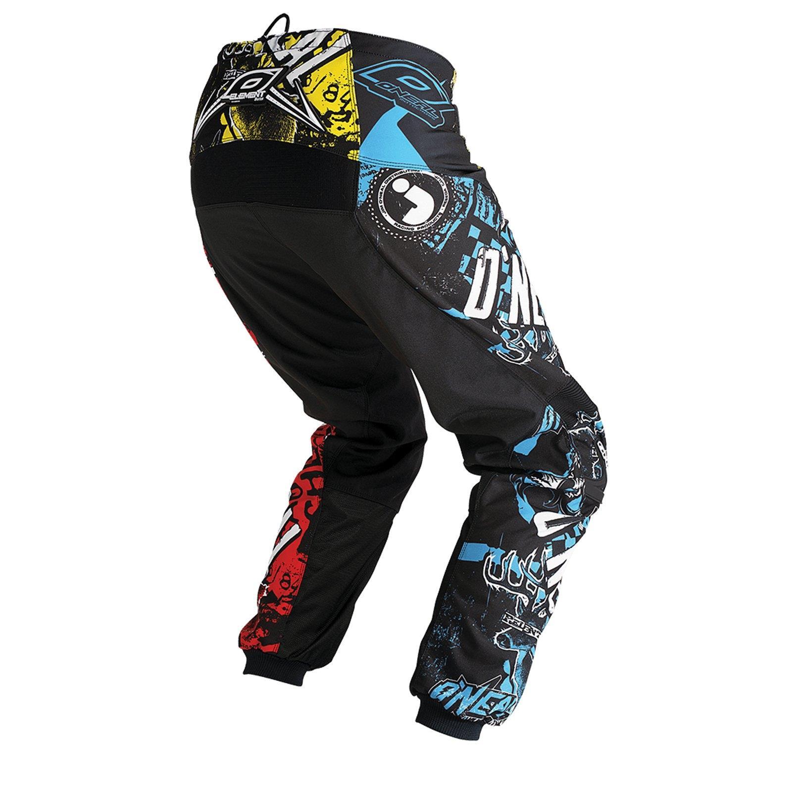 ONeal-pantalones-de-Jersey-de-los-ninos-de-pantalones-cortos-ninos-MX-bicicleta-DH-montana-bicicleta miniatura 30