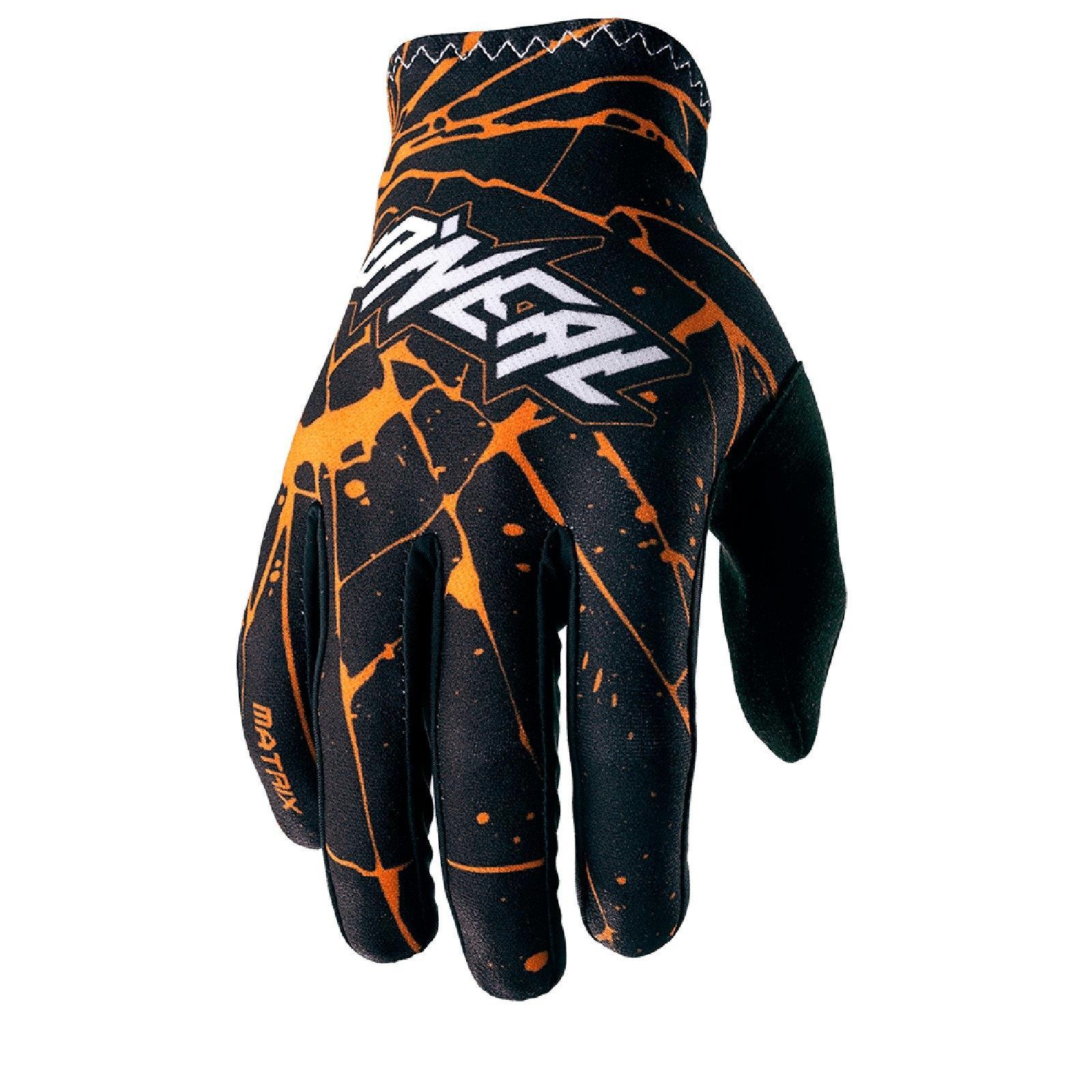 O-039-Neal-Matrix-enigma-Guanti-gloves-motocross-MX-SX-ENDURO-MOTO-QUAD-FMX miniatura 4