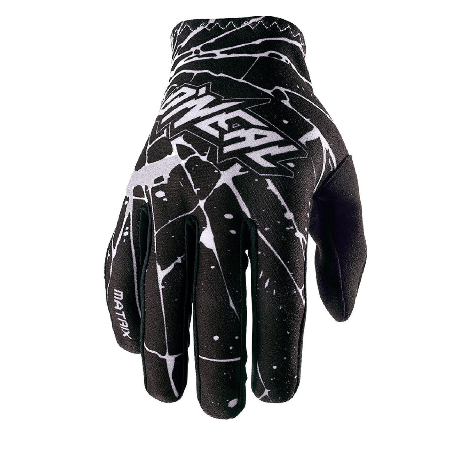 O-039-Neal-Matrix-enigma-Guanti-gloves-motocross-MX-SX-ENDURO-MOTO-QUAD-FMX miniatura 8