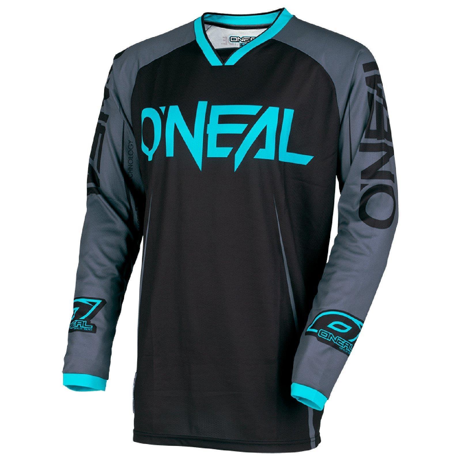 O-039-Neal-Mayhem-bloccanti-MOTO-CROSS-Jersey-Maglia-MX-Enduro-MTB-MOUNTAIN-BIKE-SHIRT miniatura 4