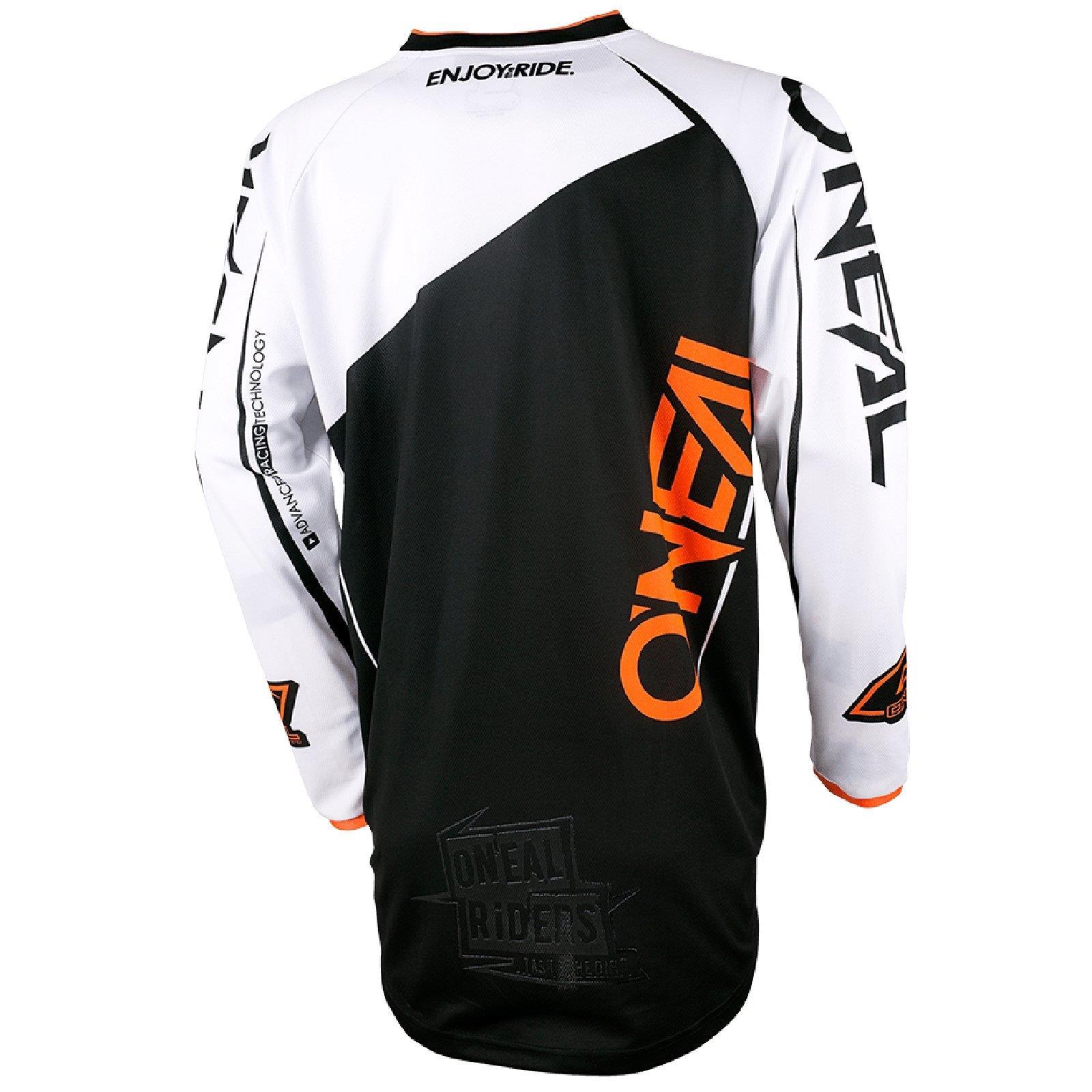 O-039-neal-Mayhem-Lite-Jersey-pantalones-combo-bloqueador-motocross-MX-quad-todoterreno-MTB-DH miniatura 4
