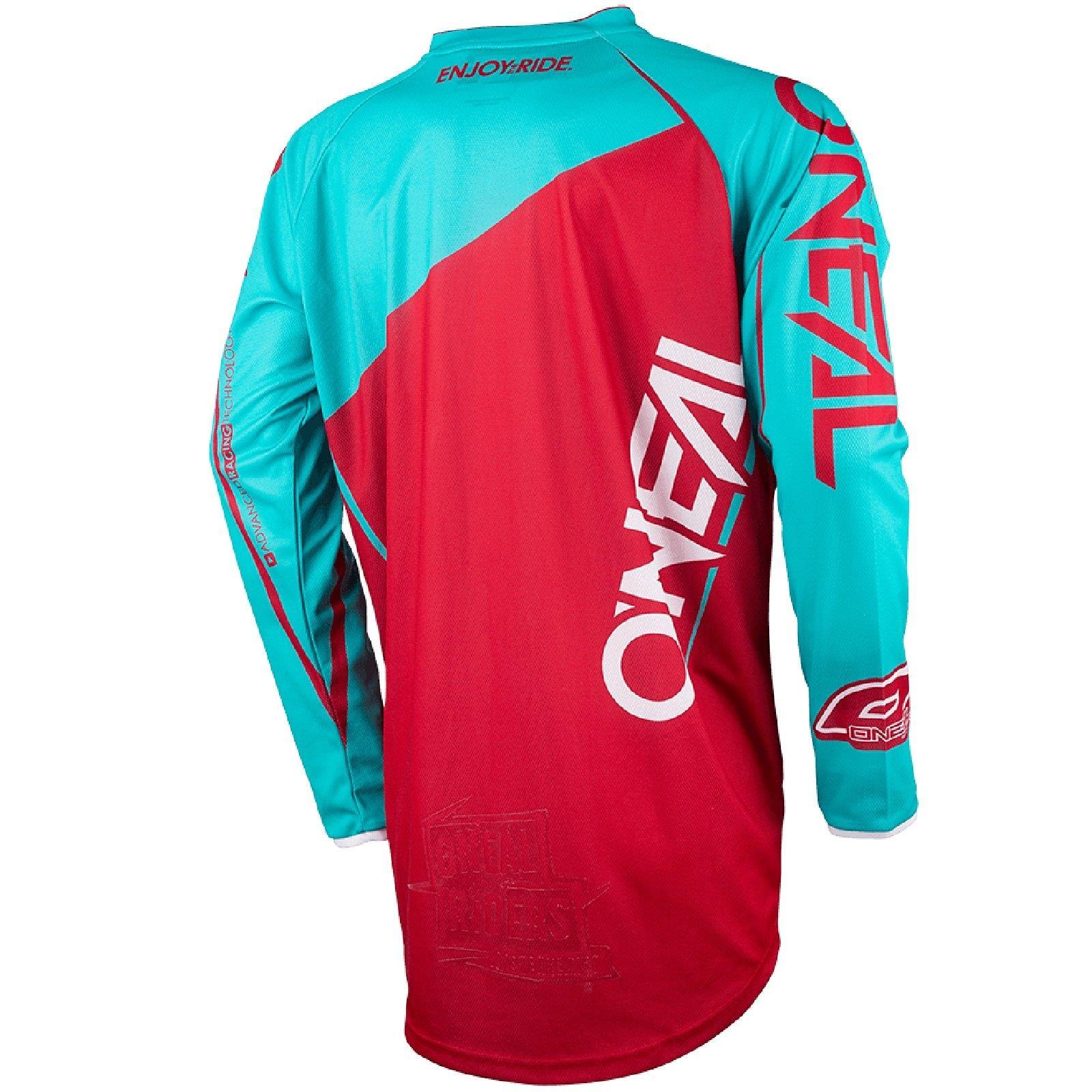O-039-neal-Mayhem-Lite-Jersey-pantalones-combo-bloqueador-motocross-MX-quad-todoterreno-MTB-DH miniatura 19