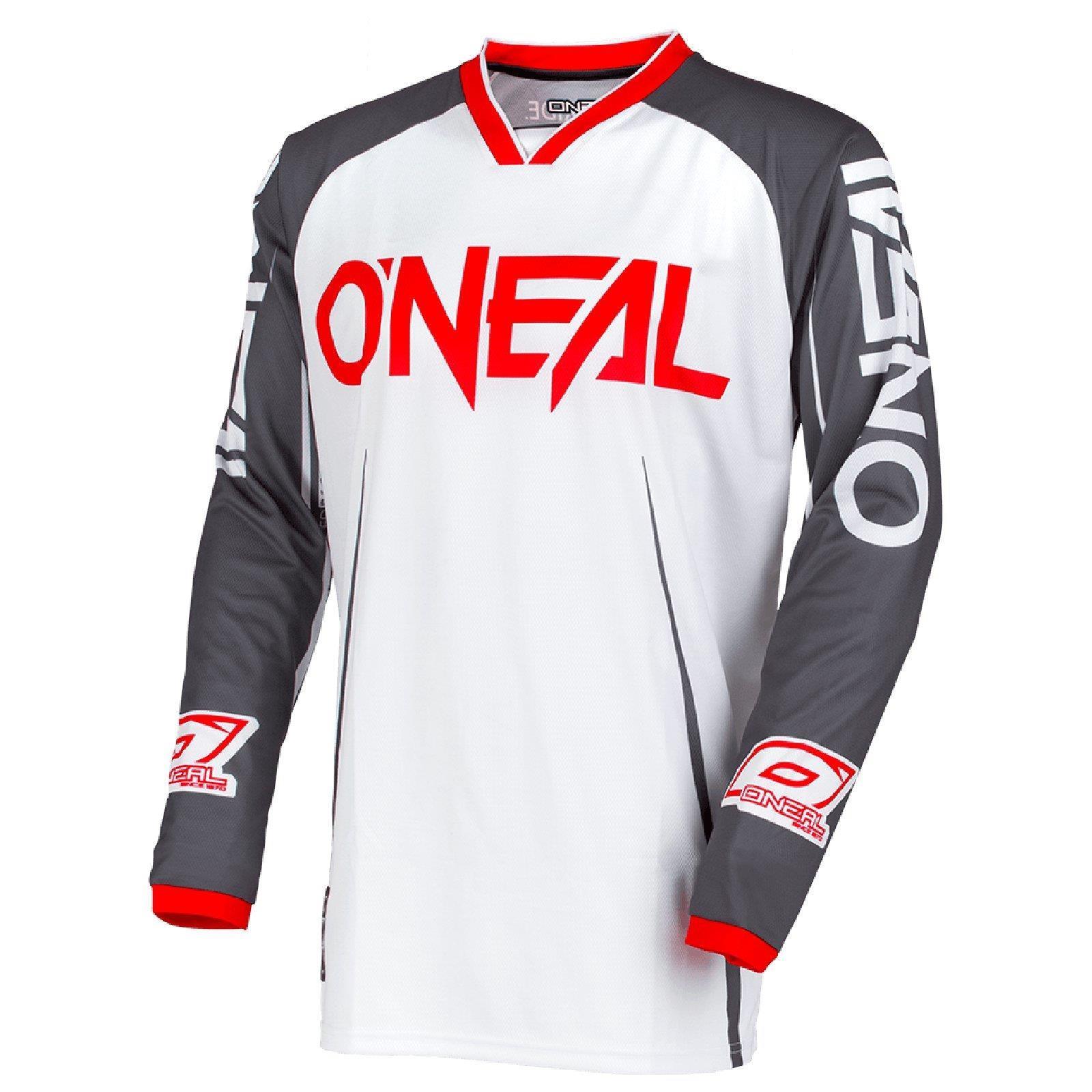 O-039-Neal-Mayhem-bloccanti-MOTO-CROSS-Jersey-Maglia-MX-Enduro-MTB-MOUNTAIN-BIKE-SHIRT miniatura 6