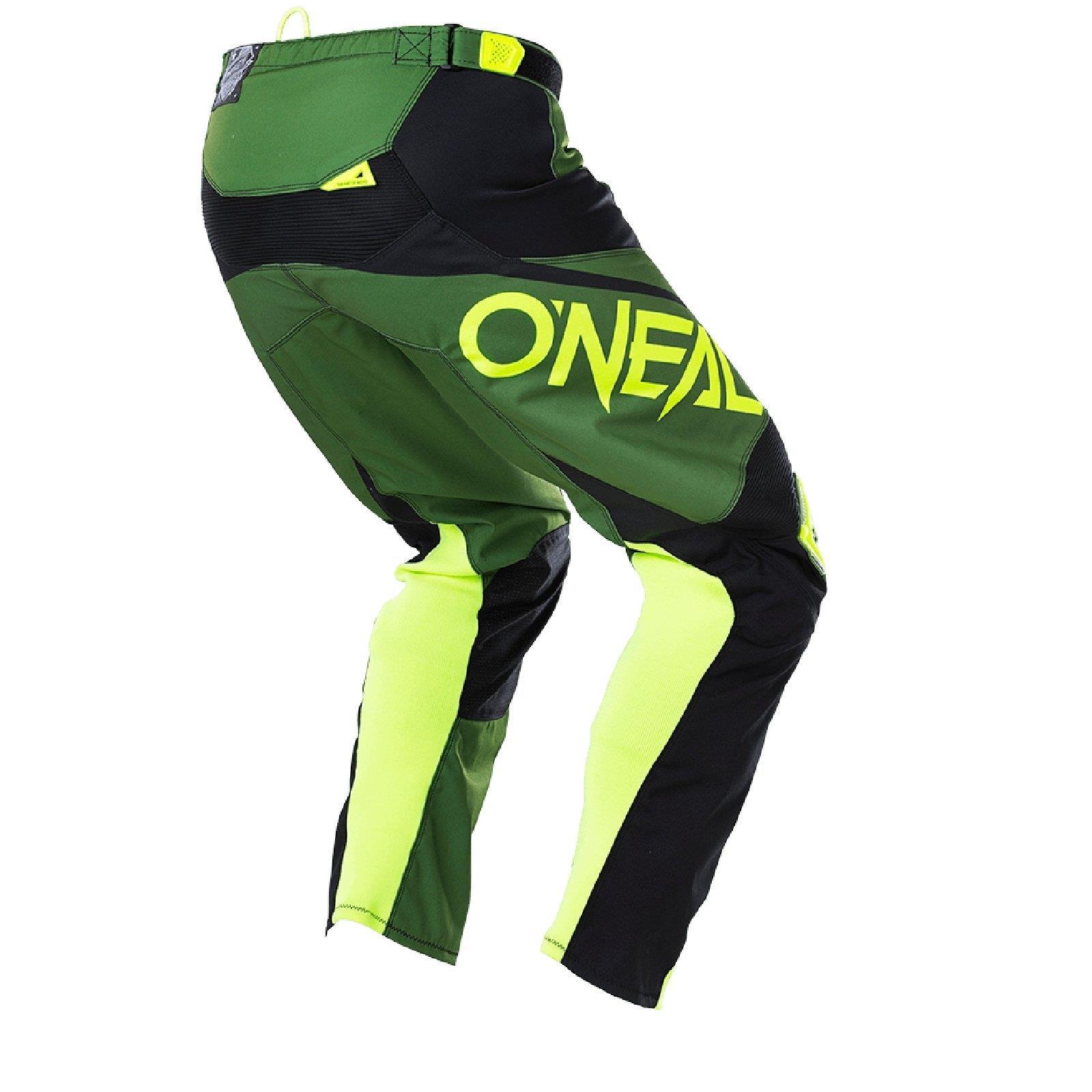 O-039-neal-elemento-Mayhem-Hardwear-Pants-pantalones-MX-Moto-Cross-Enduro-todoterreno-cuero miniatura 34