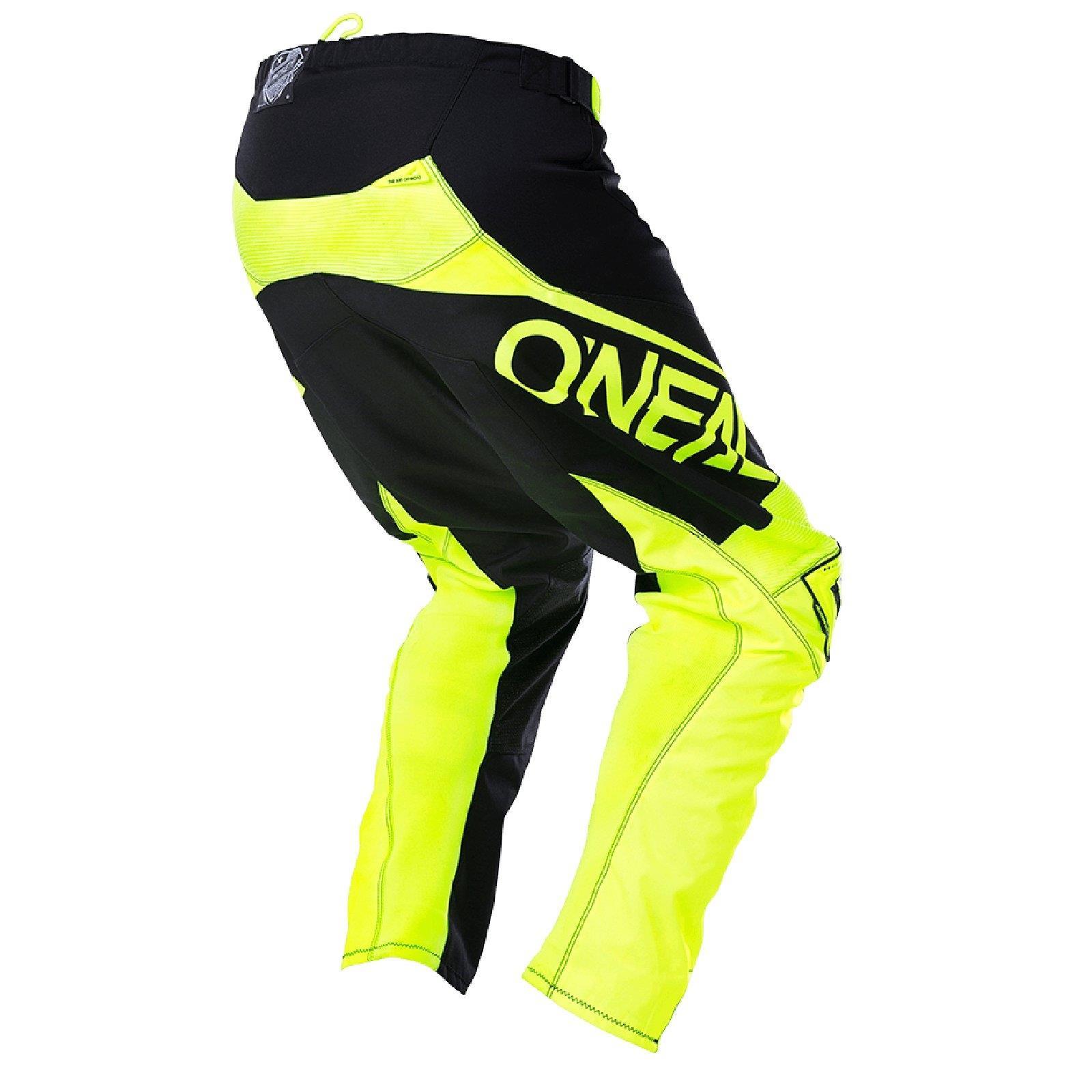 O-039-Neal-elemento-Mayhem-Hardwear-Pants-Pantaloni-MX-MOTO-CROSS-ENDURO-OFFROAD-Pelle miniatura 36