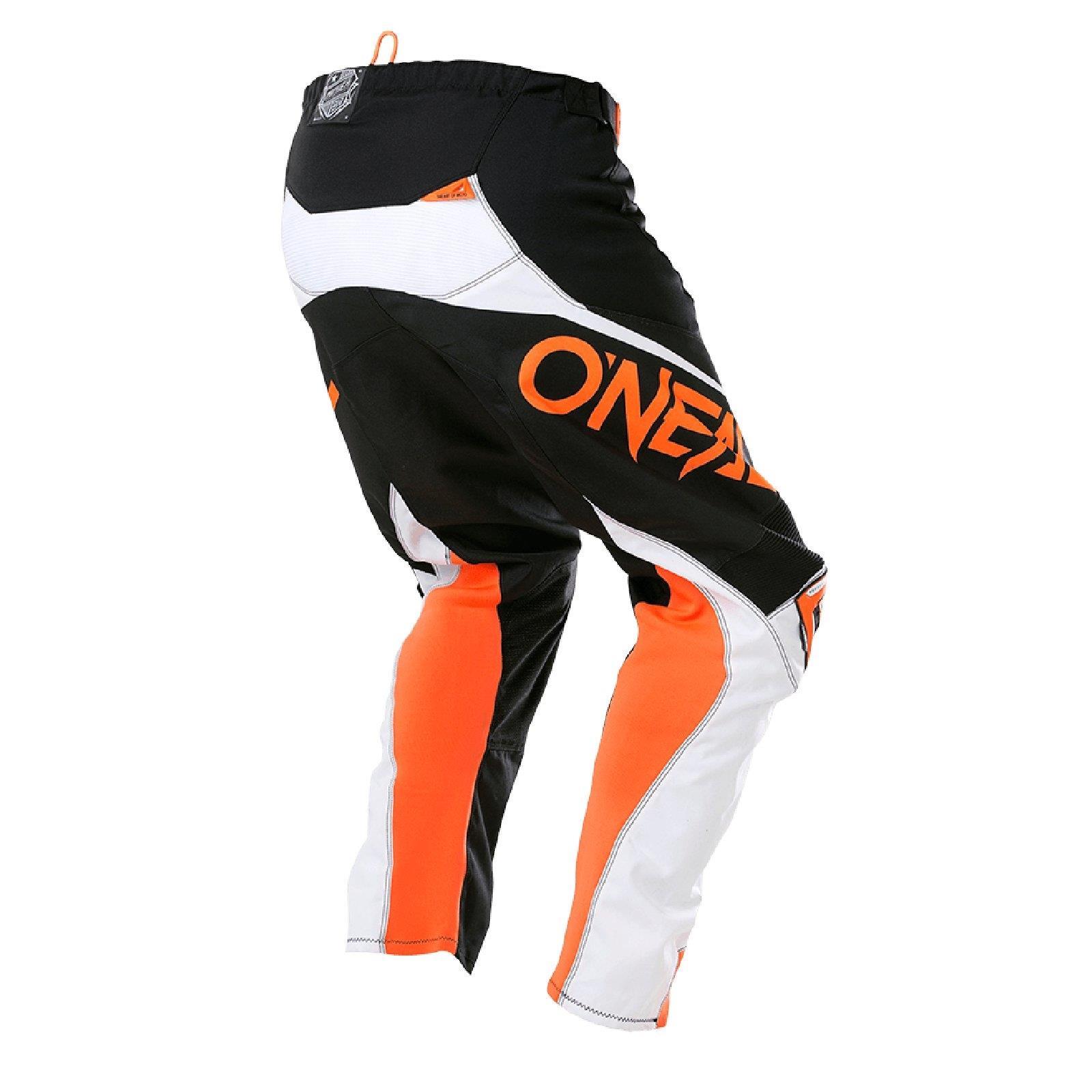 O-039-Neal-elemento-Mayhem-Hardwear-Pants-Pantaloni-MX-MOTO-CROSS-ENDURO-OFFROAD-Pelle miniatura 38