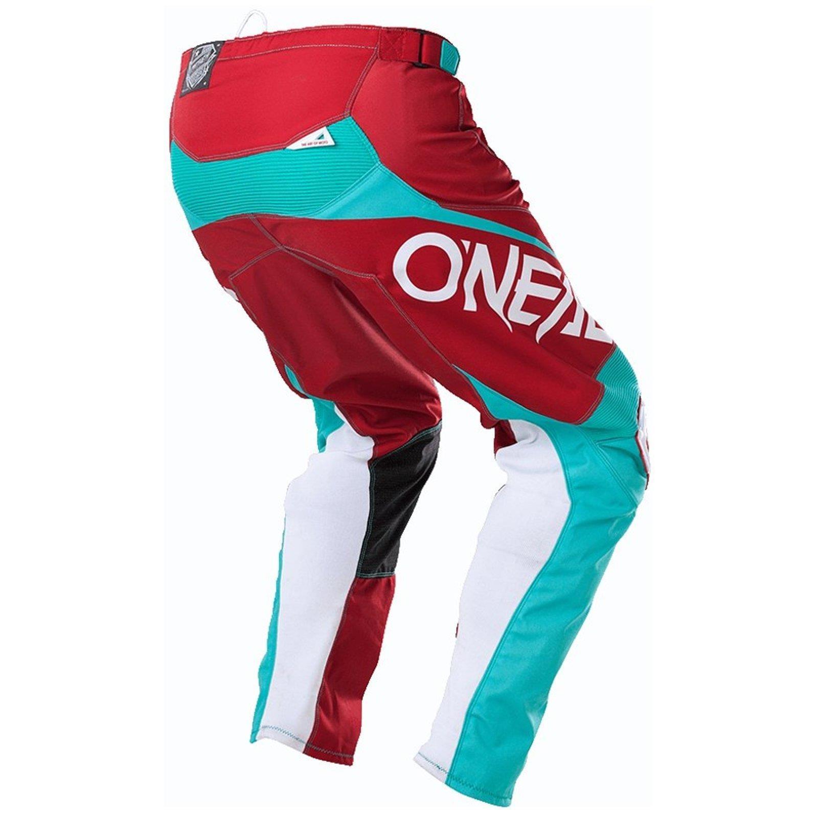 O-039-Neal-elemento-Mayhem-Hardwear-Pants-Pantaloni-MX-MOTO-CROSS-ENDURO-OFFROAD-Pelle miniatura 40