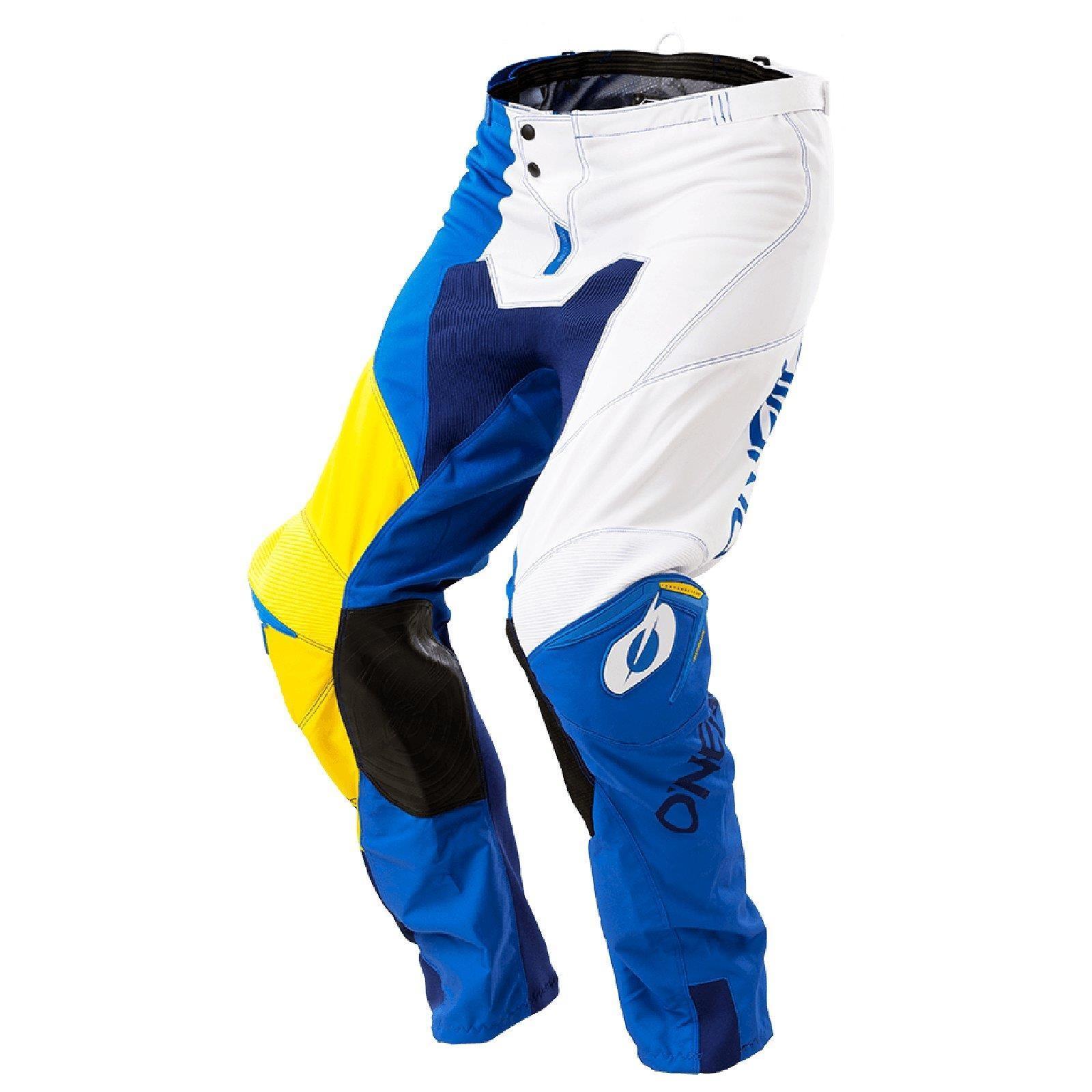 Bicicleta-de-montana-Enduro-MTB-downhill-pantalones-los-pantalones-oNeal-mayhem-que-Lite-split-Moto miniatura 6