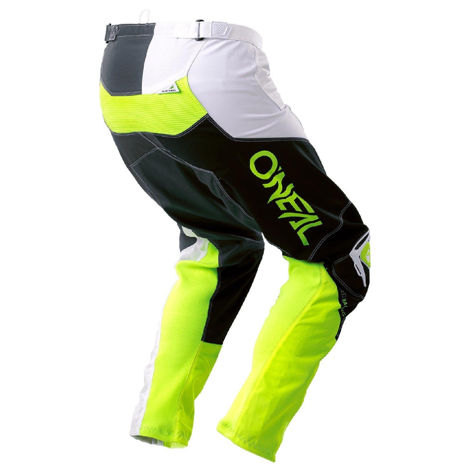 Bicicleta-de-montana-Enduro-MTB-downhill-pantalones-los-pantalones-oNeal-mayhem-que-Lite-split-Moto miniatura 11