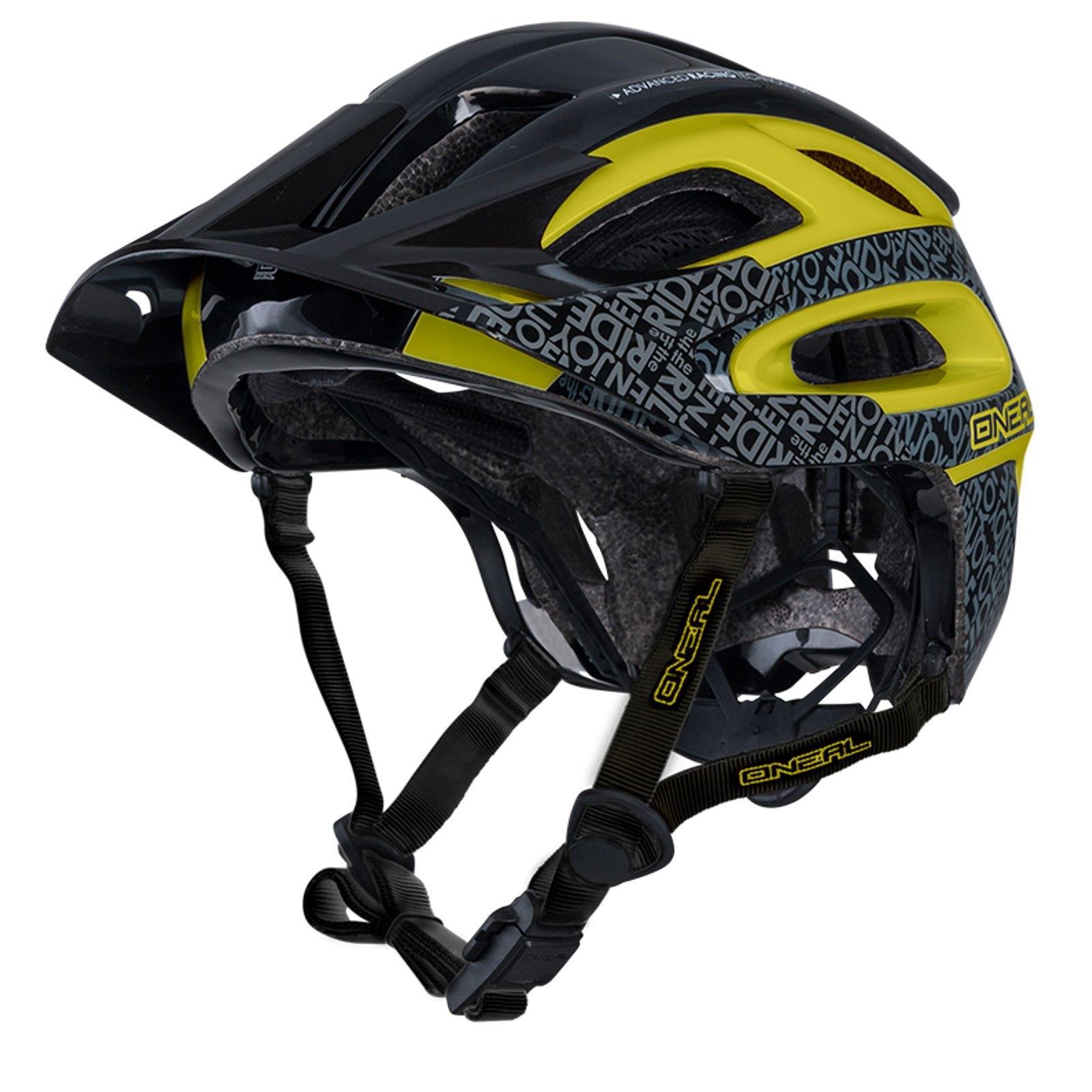 oneal orbiter ii fidlock fahrrad helm schwarz gelb mtb all. Black Bedroom Furniture Sets. Home Design Ideas