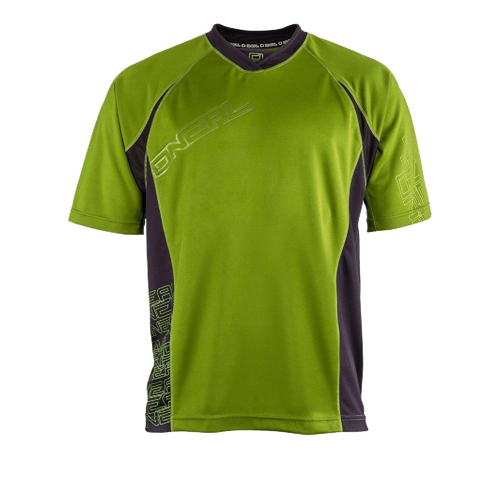 ONeal Pin It kurzarm Jersey Grün Trikot Fahrrad MTB DH FR Mountainbike Shirt