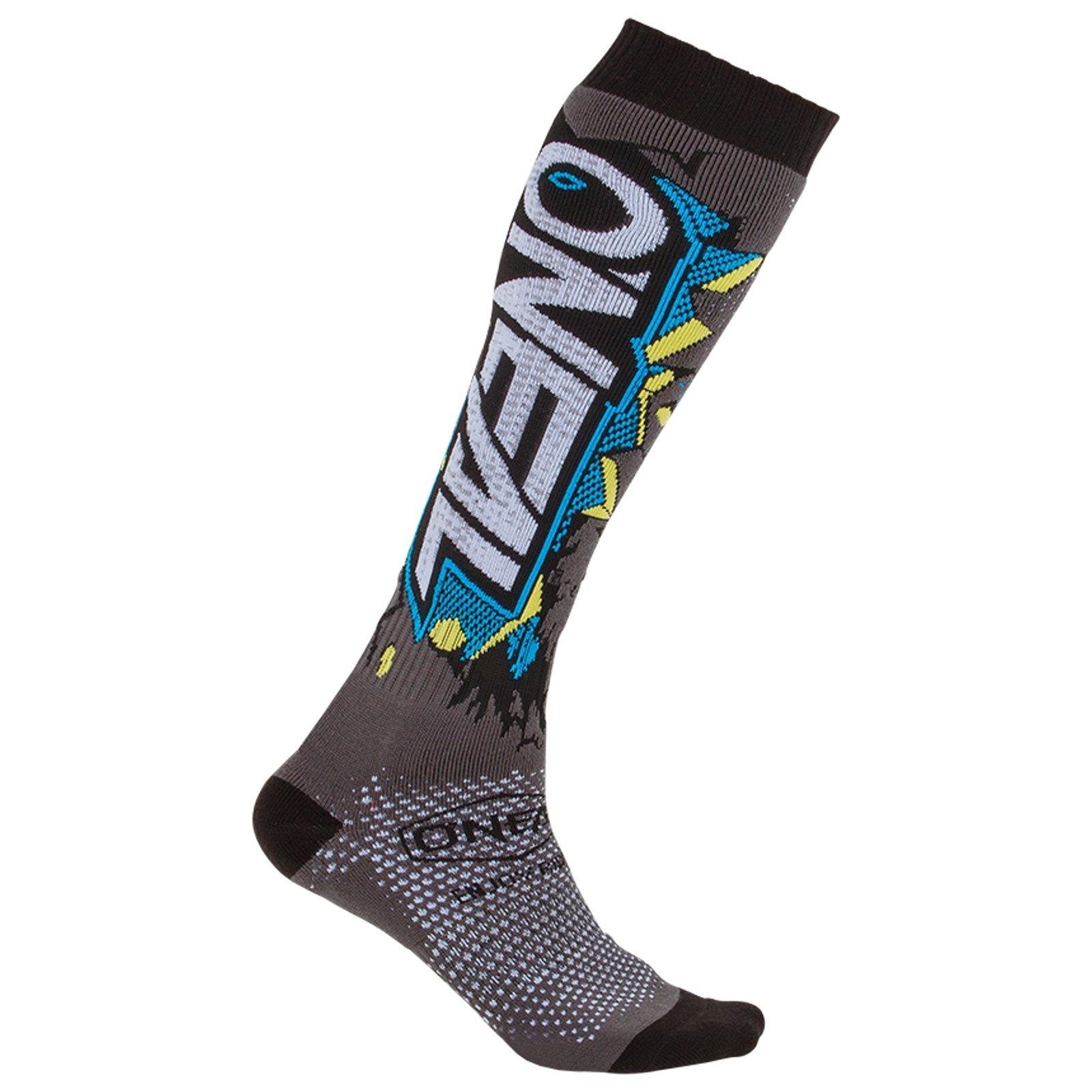 ONEAL-MOTO-CROSS-Calze-Moto-Enduro-MX-MTB-ATV-Quad-Calze-Sock-BICICLETTA-FR miniatura 16
