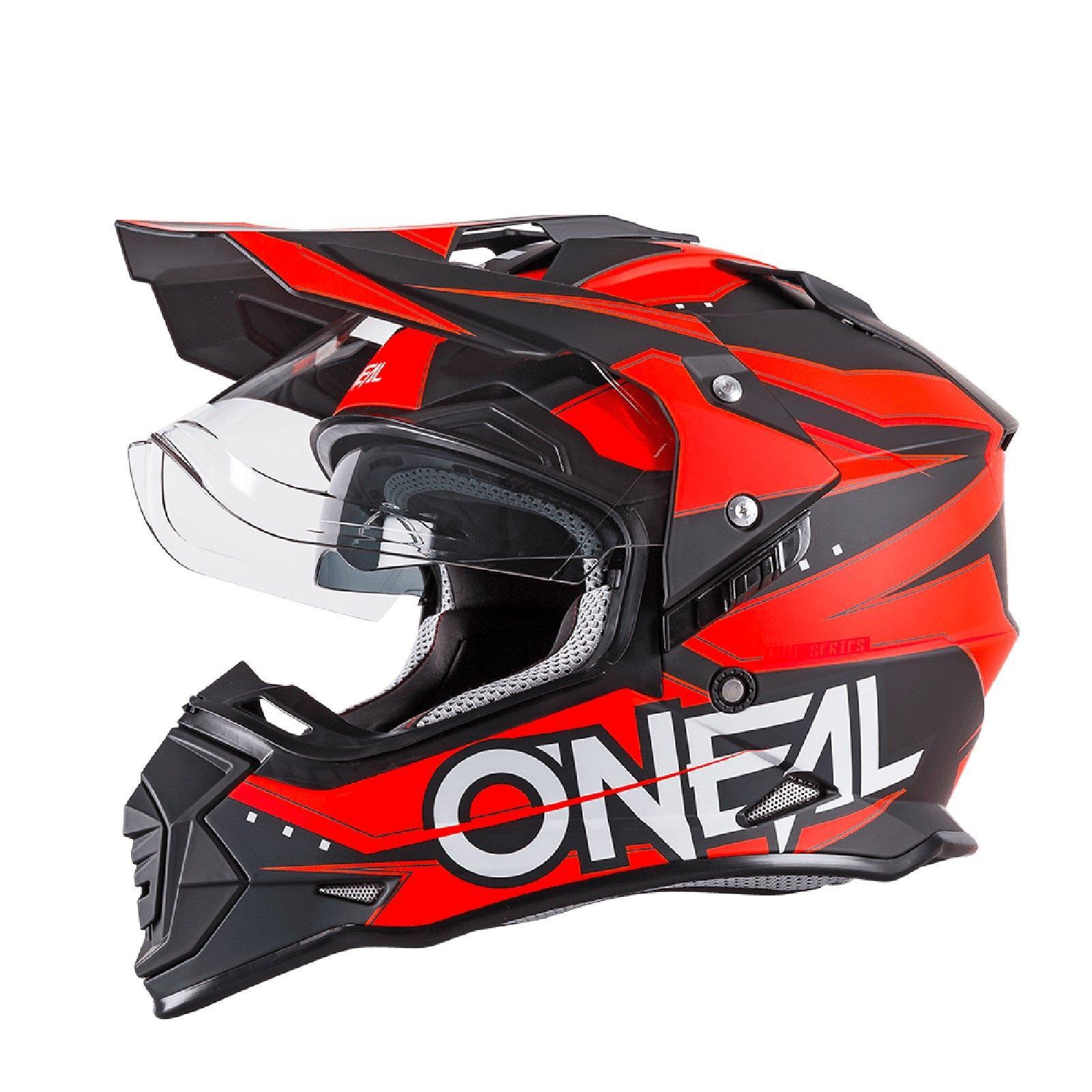 ONeal ROCKHARD II MX Helm Hustler Gr XL Motorrad Enduro Offroad Moto Cross Quad