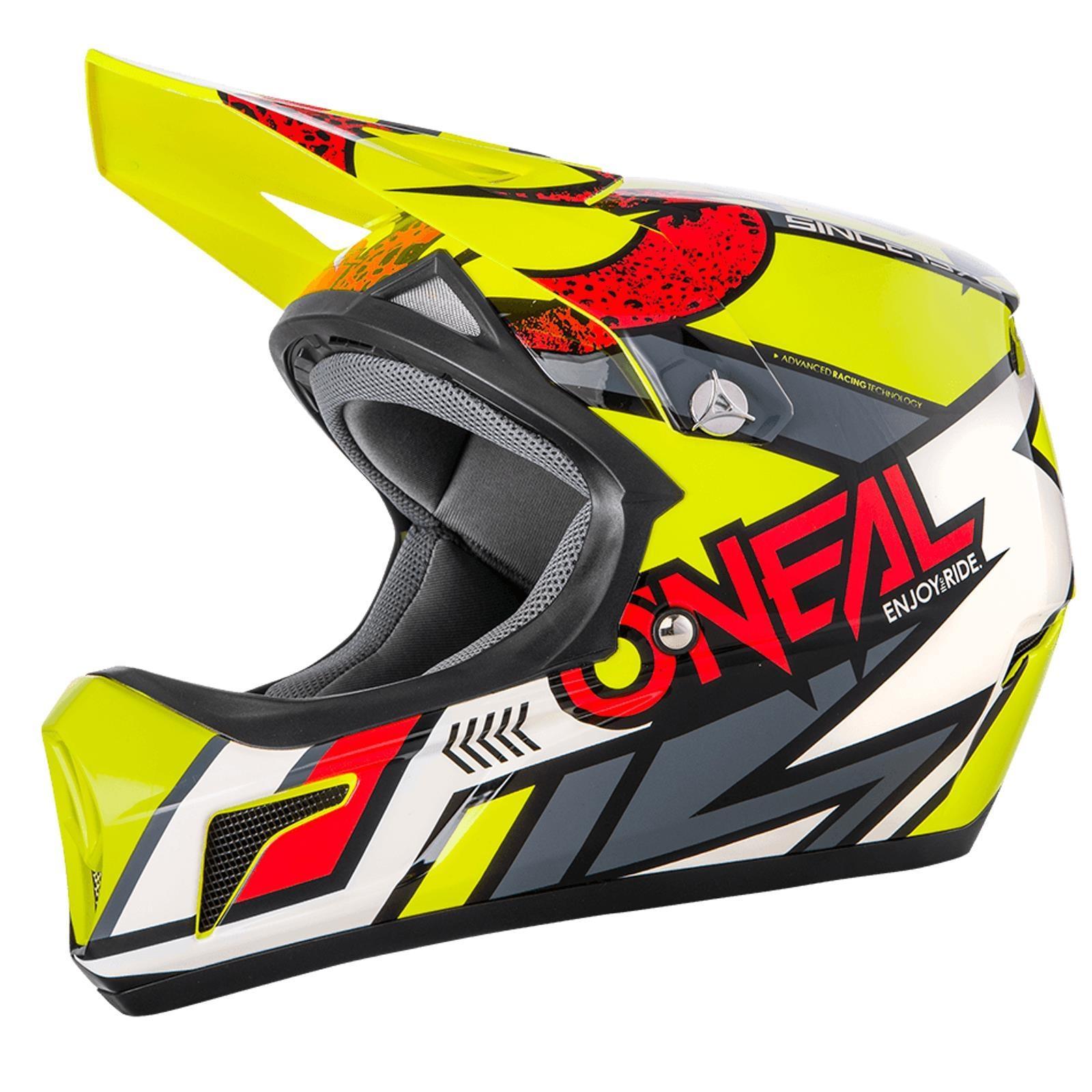 Indexbild 14 - ONeal-Sonus-Strike-Fahrrad-Helm-All-Mountain-Bike-MTB-Downhill-Fullface-Fidlock