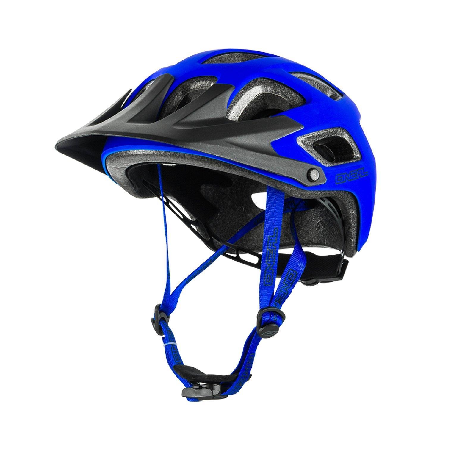 oneal thunderball mtb fahrrad helm matt blau mountainbike. Black Bedroom Furniture Sets. Home Design Ideas