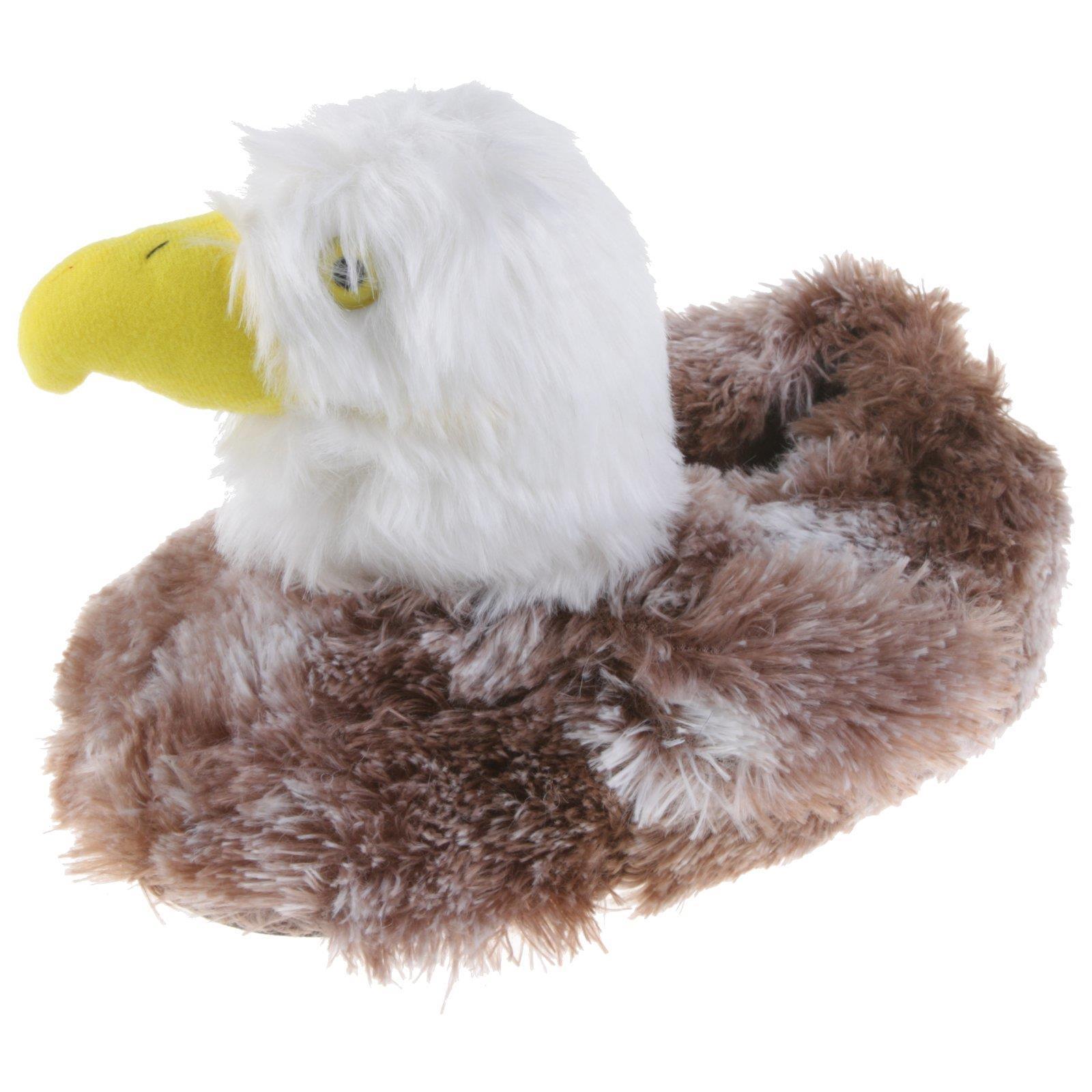 outlet store 9d253 fa3c4 Details zu USA Adler Weisskopfseeadler Tier Hausschuhe Pantoffel Schlappen  Plüsch 36-48