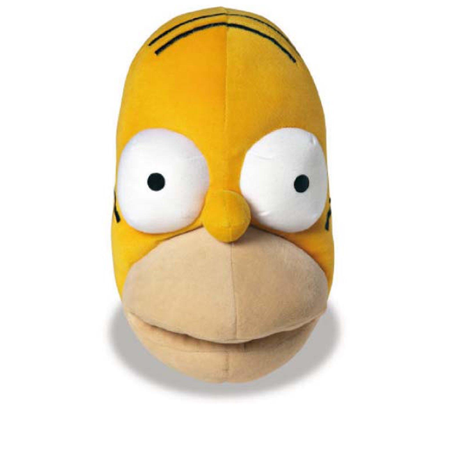 DIE SIMPSONS Homer Simpson Hausschuhe Pantoffel Schlappen Herren Gelb 38-44