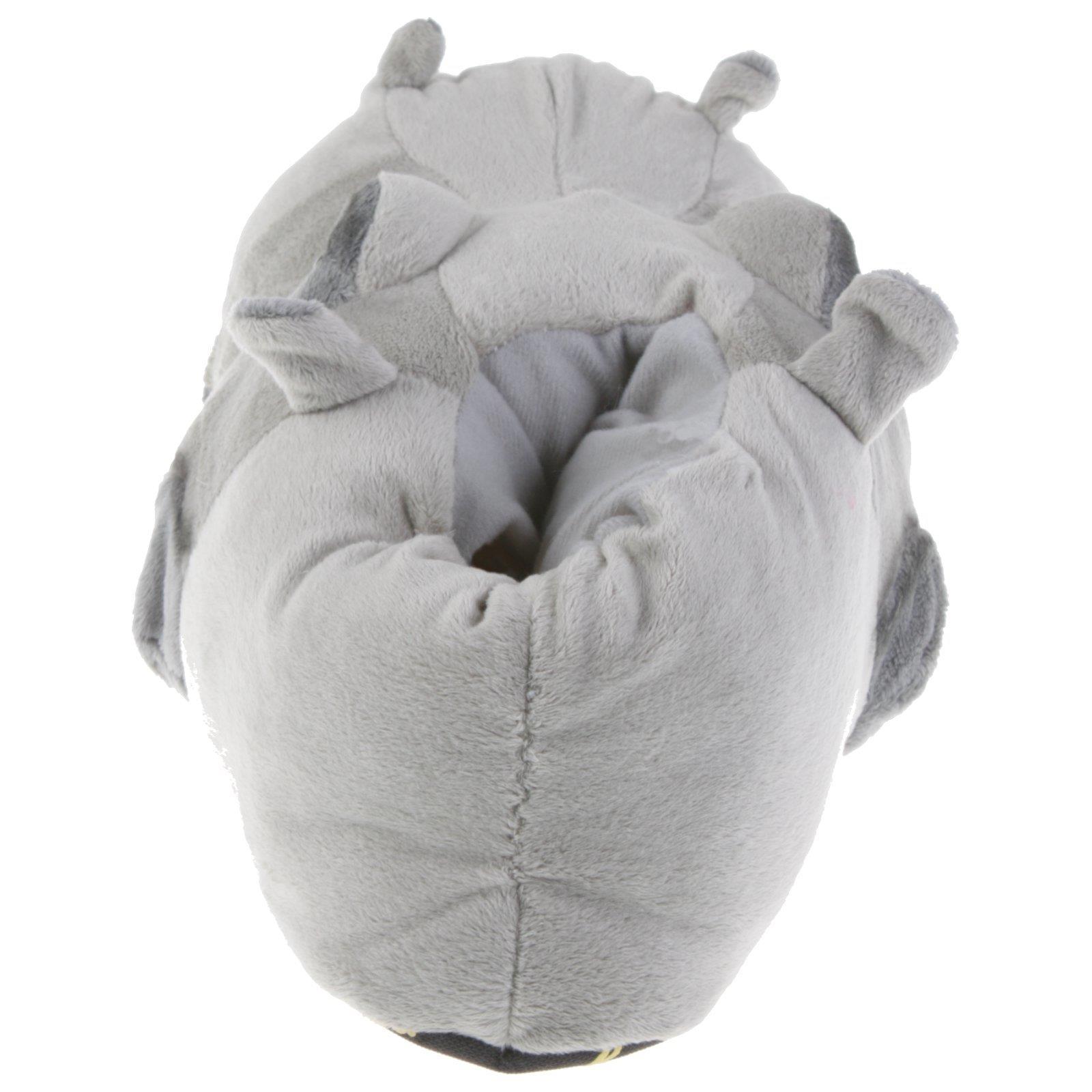 Flusspferd-Hippo-Tier-Hausschuhe-Pantoffel-Schlappen-Nilpferd-Pluesch-36-48 Indexbild 9