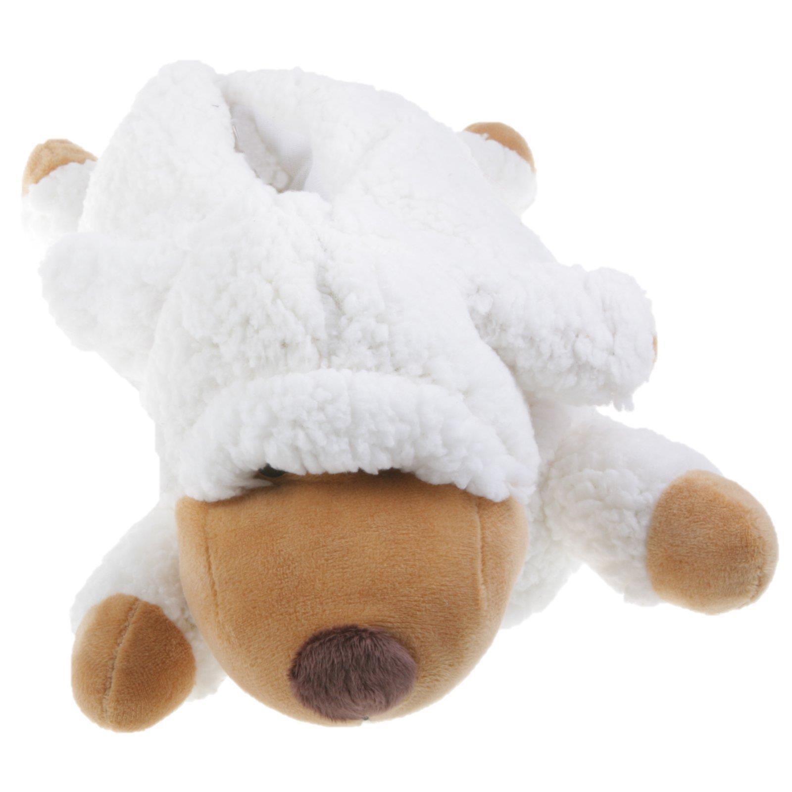 Schaf-Tier-Hausschuhe-Pantoffel-Schlappen-Kuscheltier-Pluesch-Schuh-Damen-Kinder Indexbild 10