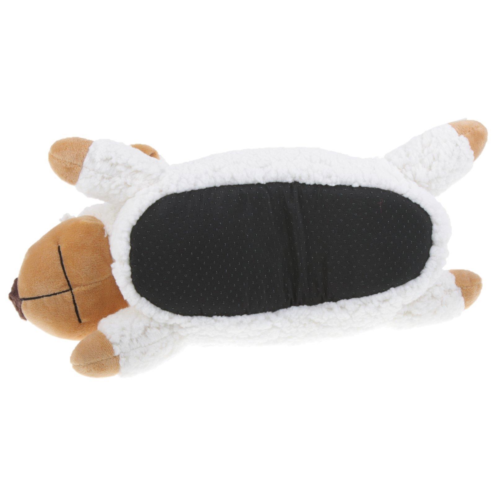 Schaf-Tier-Hausschuhe-Pantoffel-Schlappen-Kuscheltier-Pluesch-Schuh-Damen-Kinder Indexbild 12