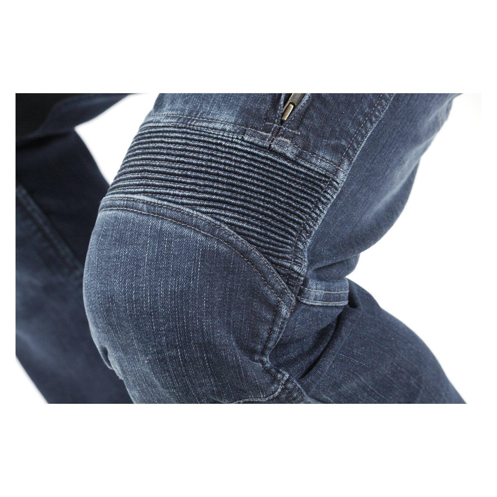 Trilobite-Pantaloni-Moto-Jeans-Abbigliamento-Parado-MICAS-URBAN-DUAL-PANTS-ACID miniatura 81