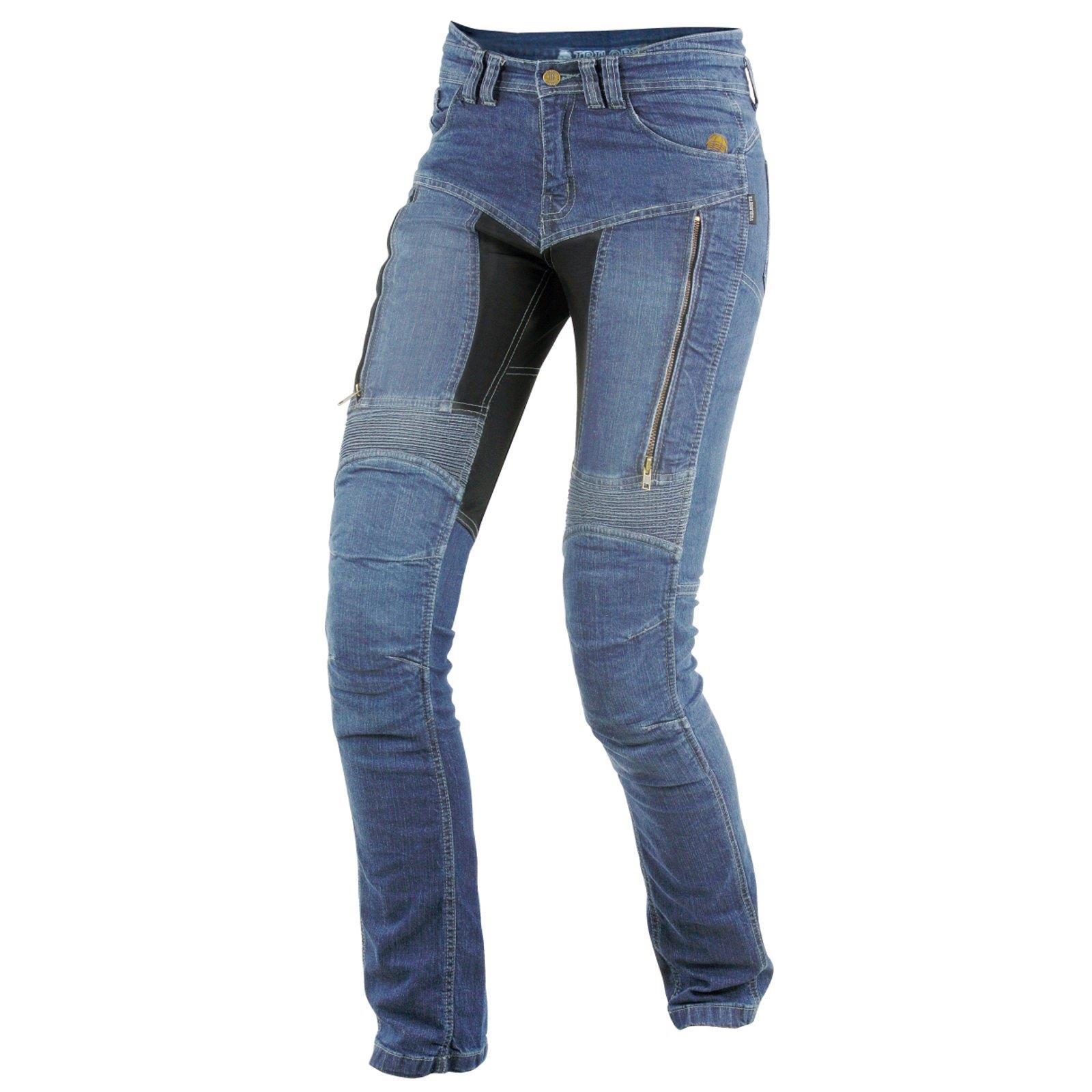Trilobite-Pantaloni-Moto-Jeans-Abbigliamento-Parado-MICAS-URBAN-DUAL-PANTS-ACID miniatura 67