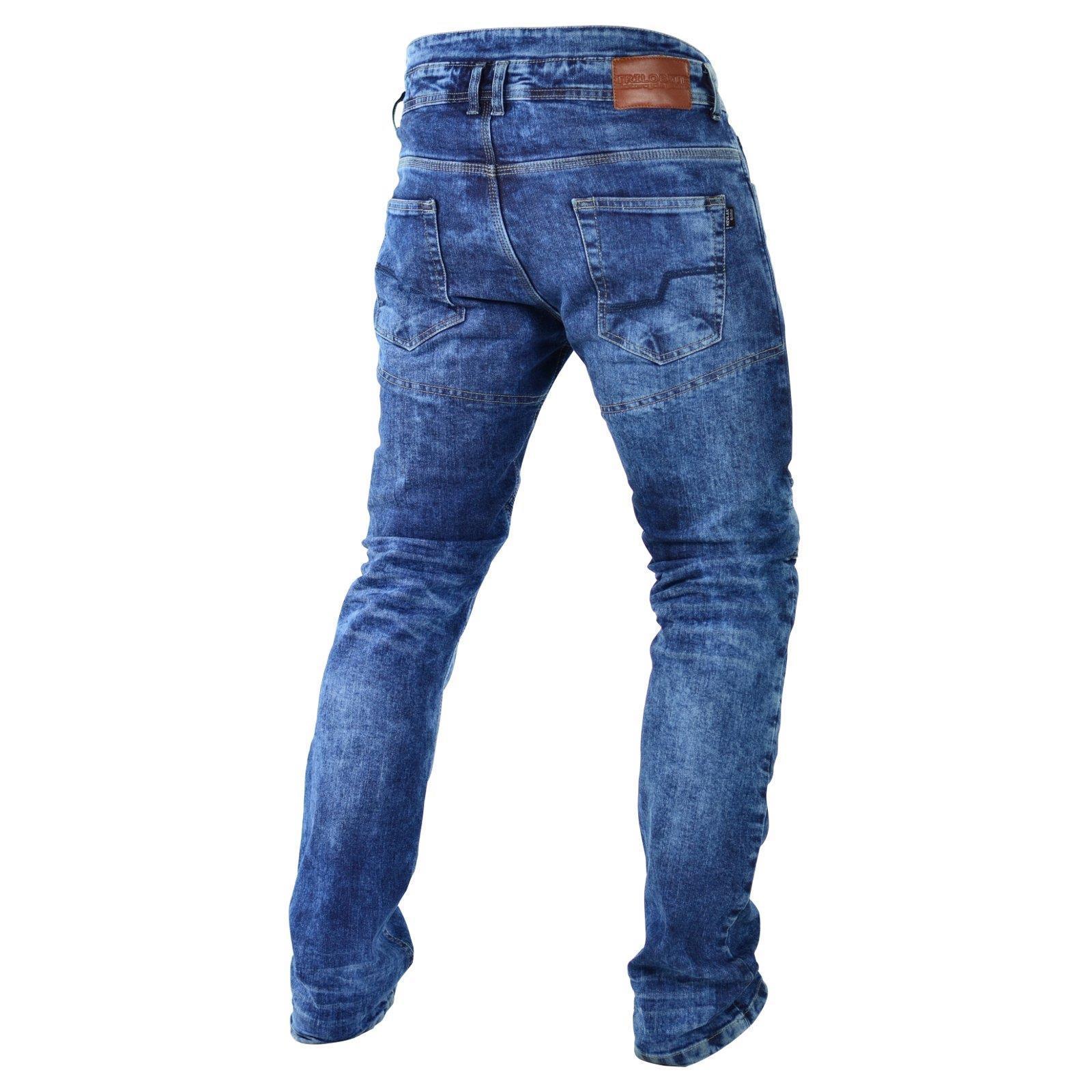 Trilobite-Pantaloni-Moto-Jeans-Abbigliamento-Parado-MICAS-URBAN-DUAL-PANTS-ACID miniatura 54