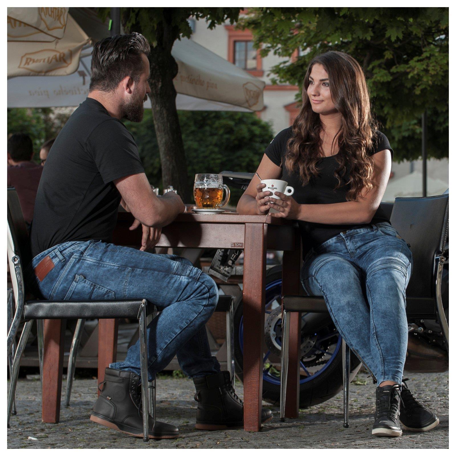 Trilobite-Pantaloni-Moto-Jeans-Abbigliamento-Parado-MICAS-URBAN-DUAL-PANTS-ACID miniatura 56