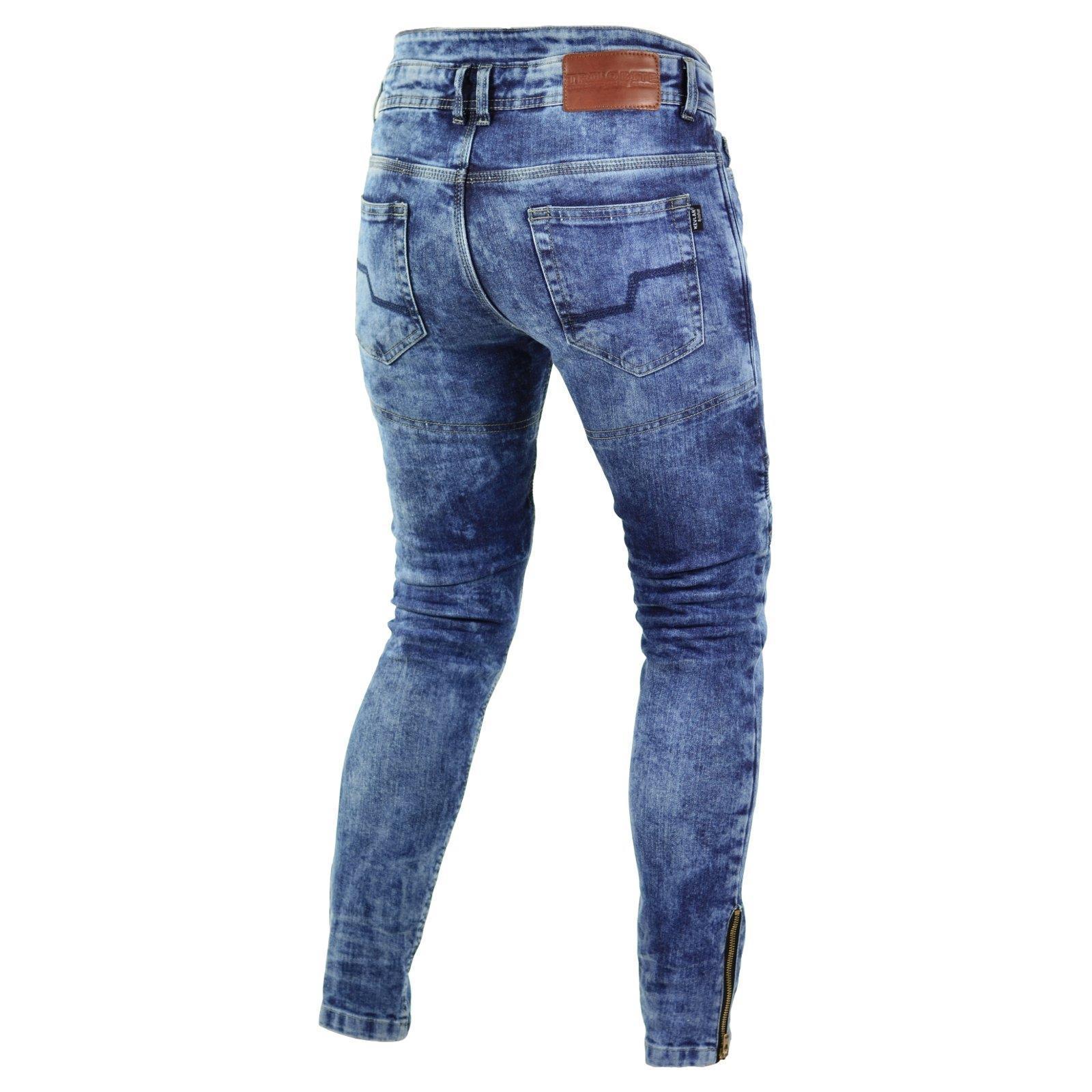 Trilobite-Pantaloni-Moto-Jeans-Abbigliamento-Parado-MICAS-URBAN-DUAL-PANTS-ACID miniatura 93